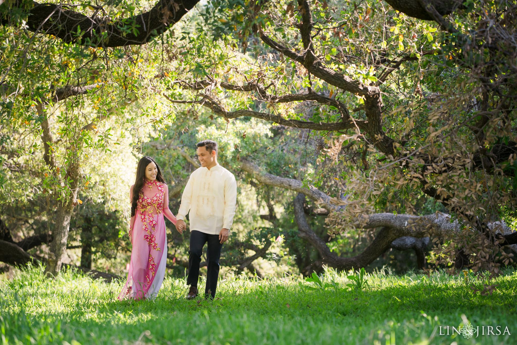 06 Los Angeles Arboretum Spring Engagement Photography