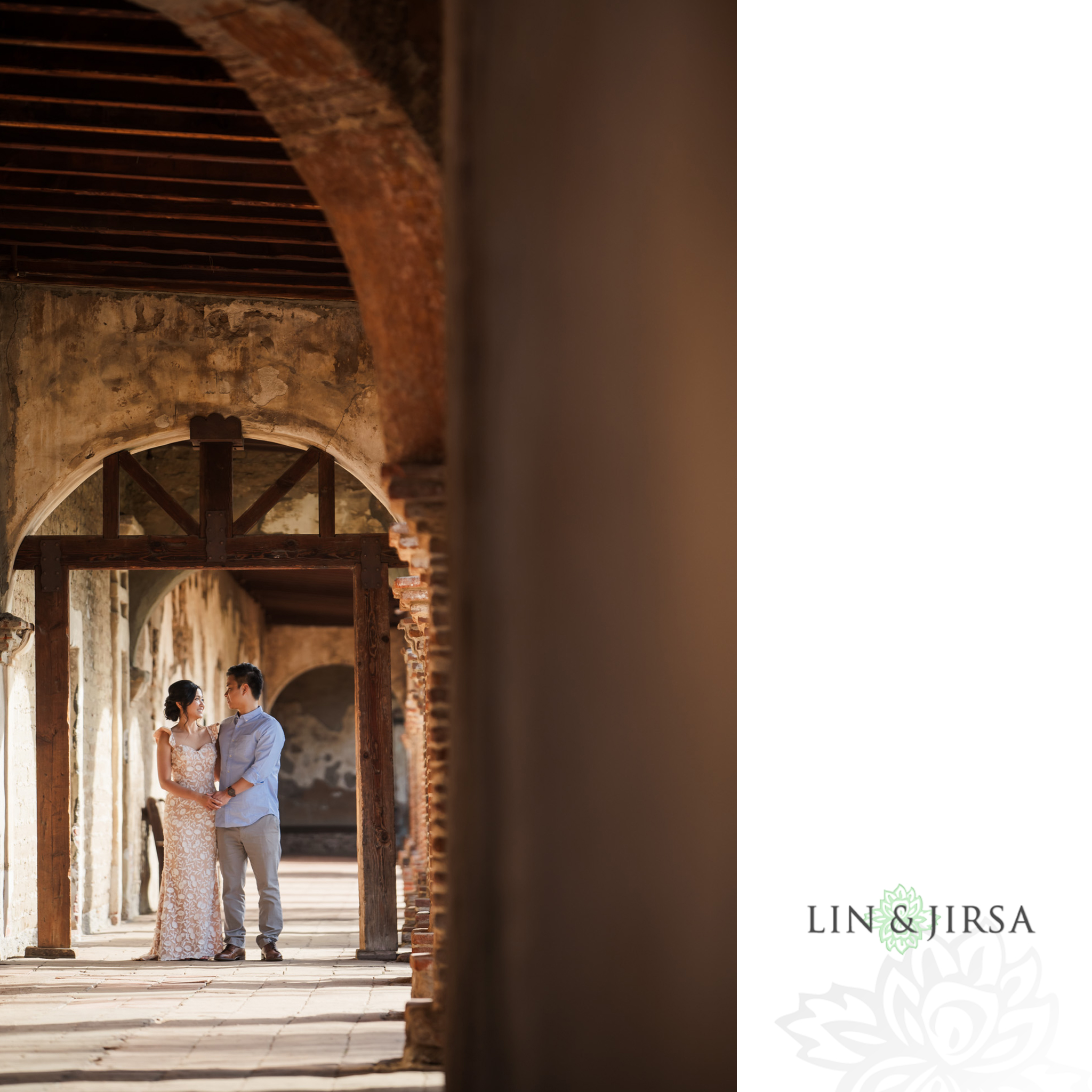 06 Mission San Juan Capistrano Engagement Photography 1