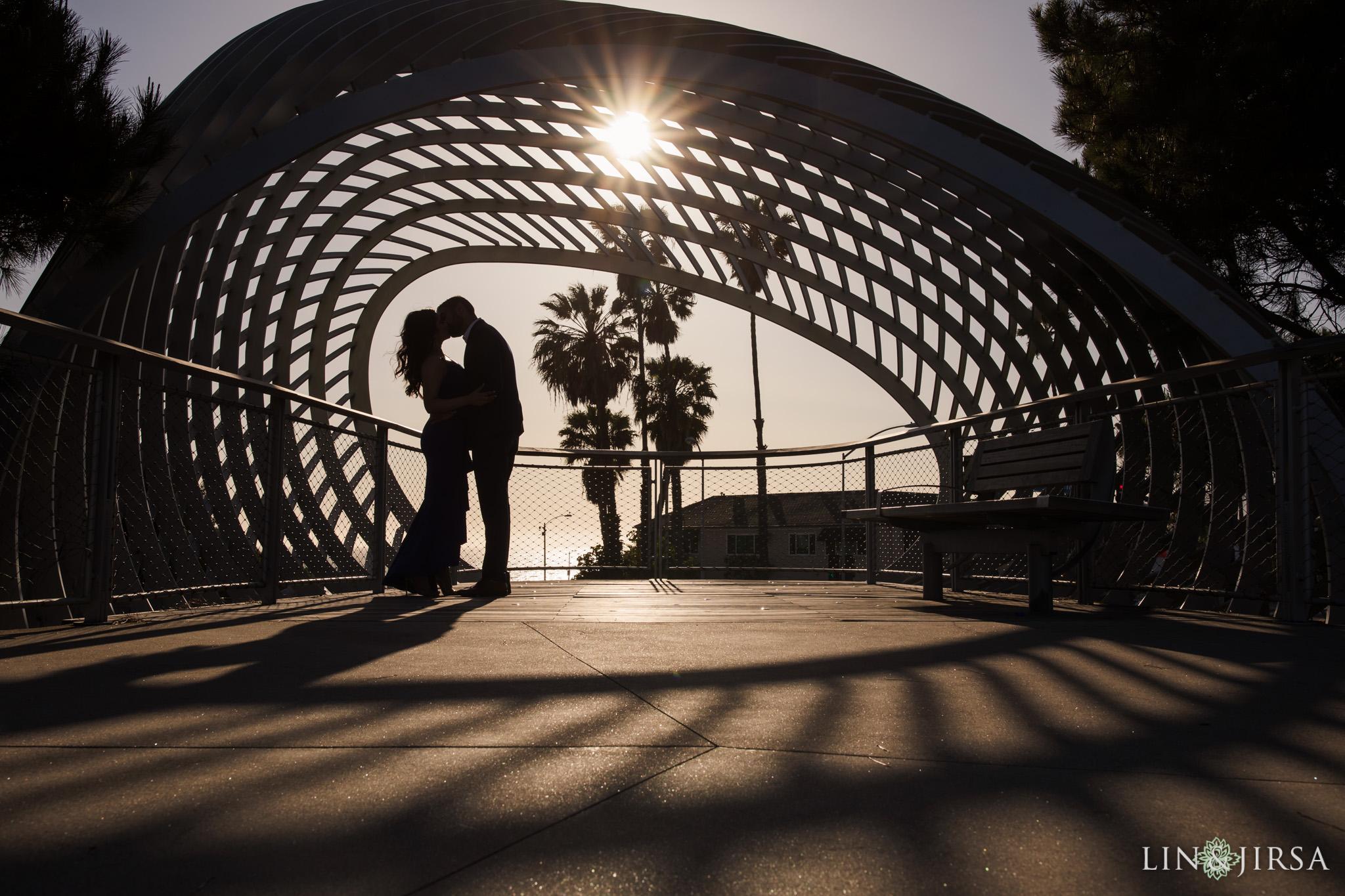 06 Tongva Park Santa Monica Pier Engagement Photography