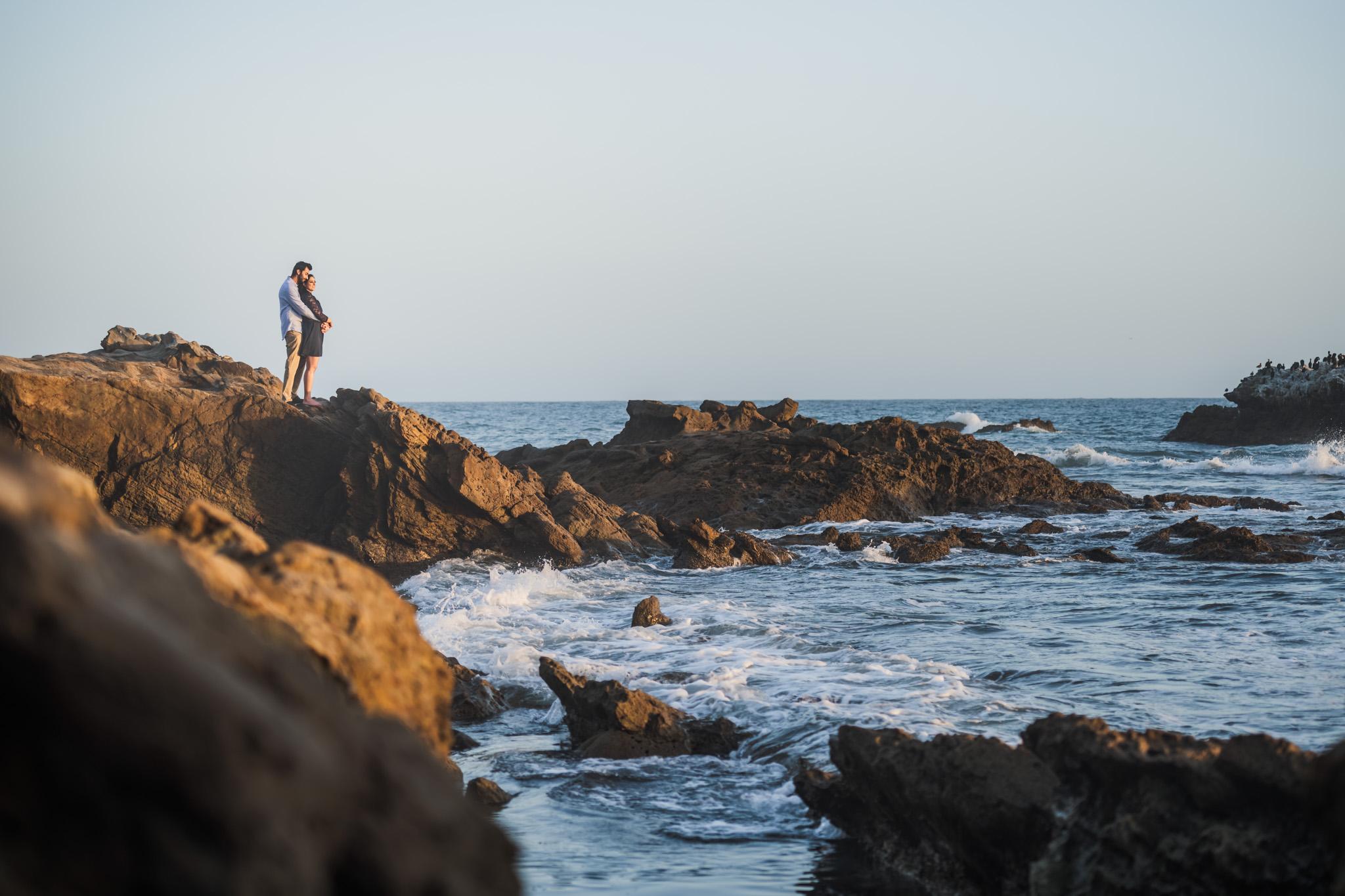 07 Heisler Park Laguna Beach Engagement Photography