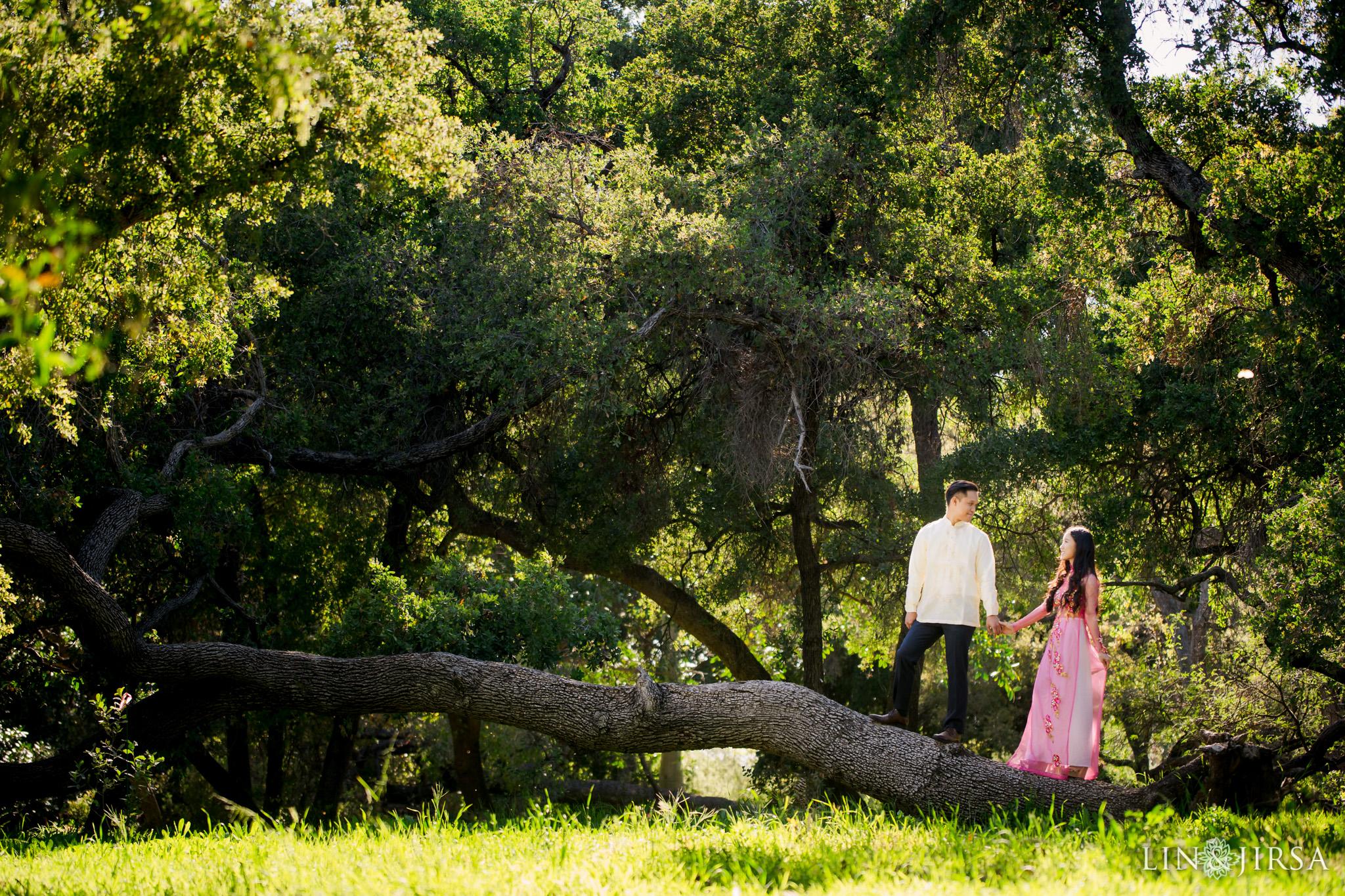 07 Los Angeles Arboretum Spring Engagement Photography