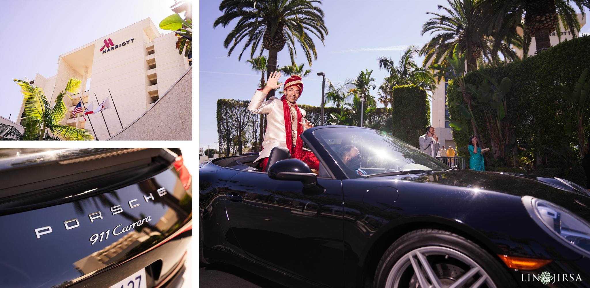 07 Newport Beach Marriott Indian Wedding Photography