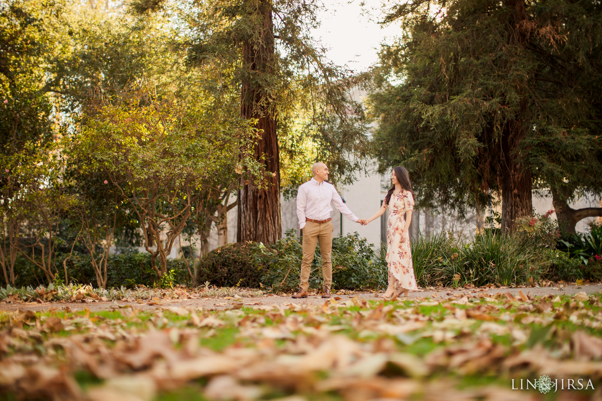 08 Claremont Colleges Fall Engagement Photography