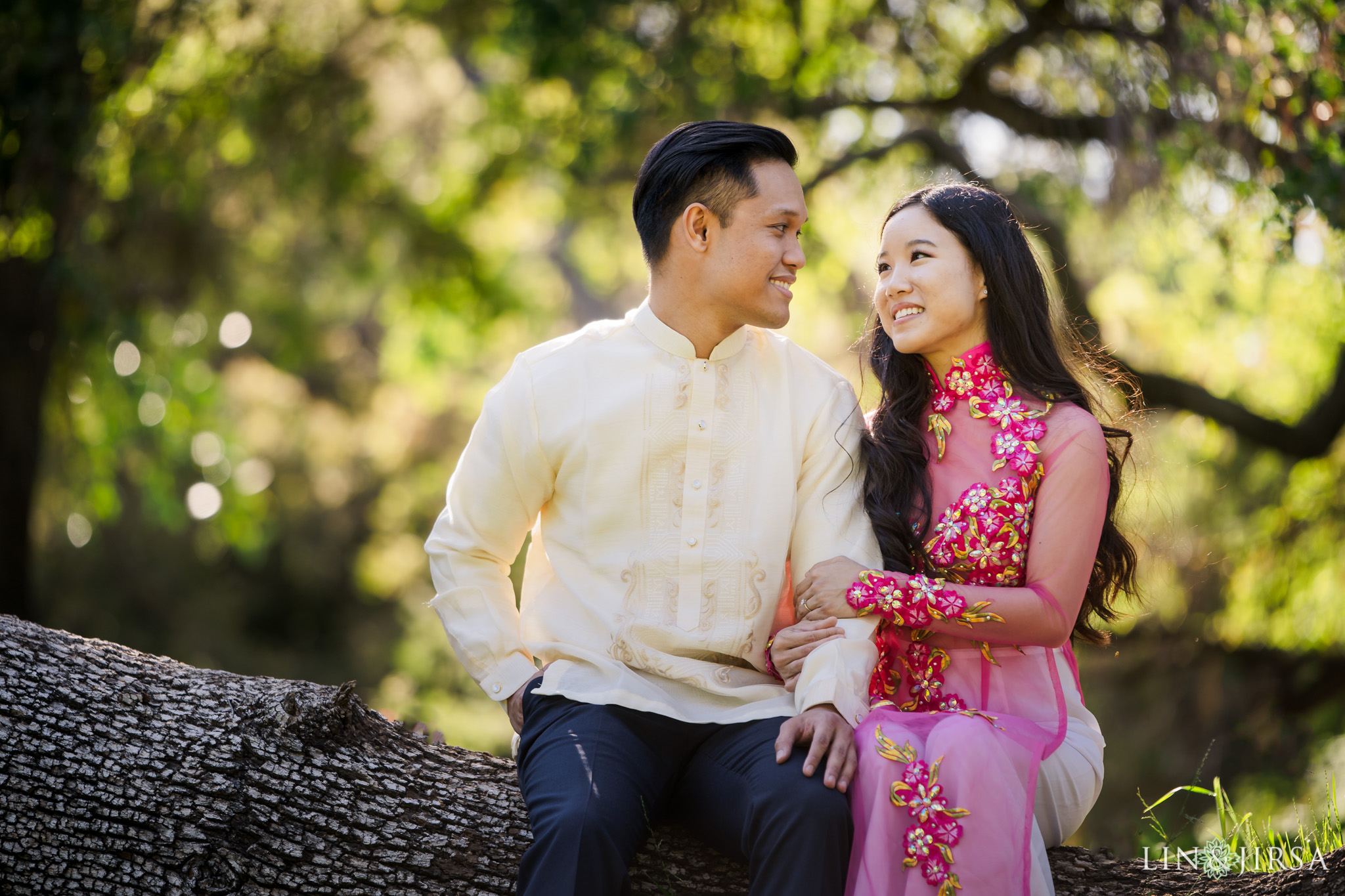 08 Los Angeles Arboretum Spring Engagement Photography
