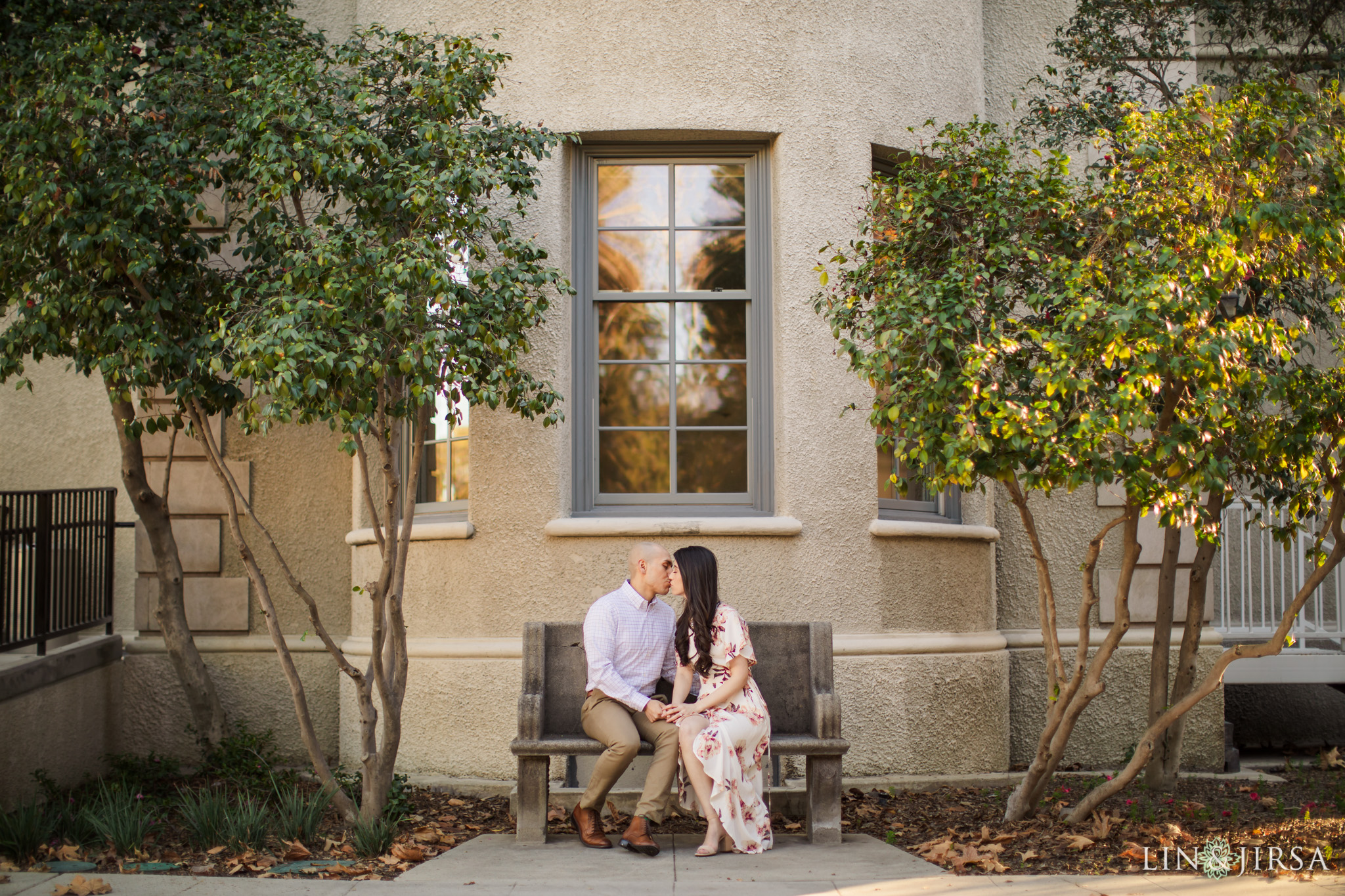 09 Claremont Colleges Fall Engagement Photography