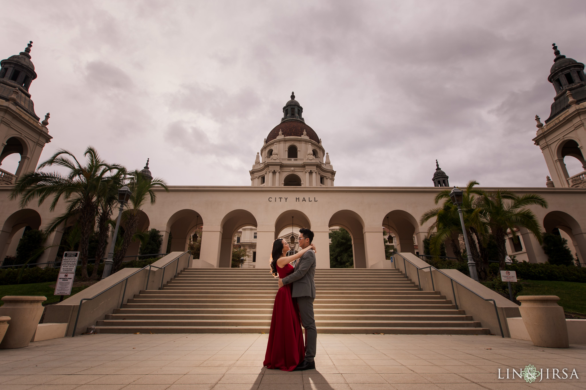 09 Pasadena City Hall Engagement Photography 1