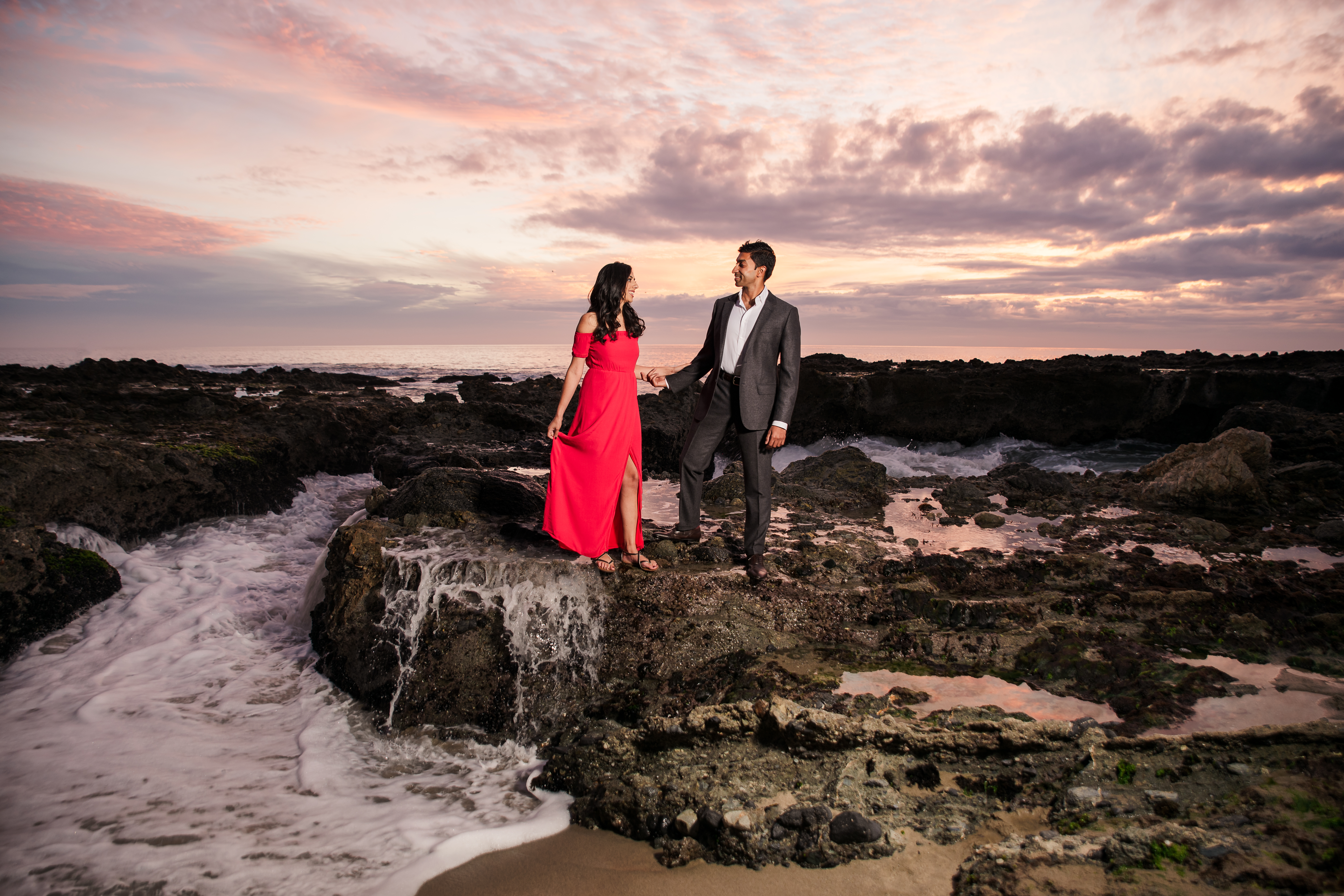 09 Victoria Beach Orange County Engagement Photography 1