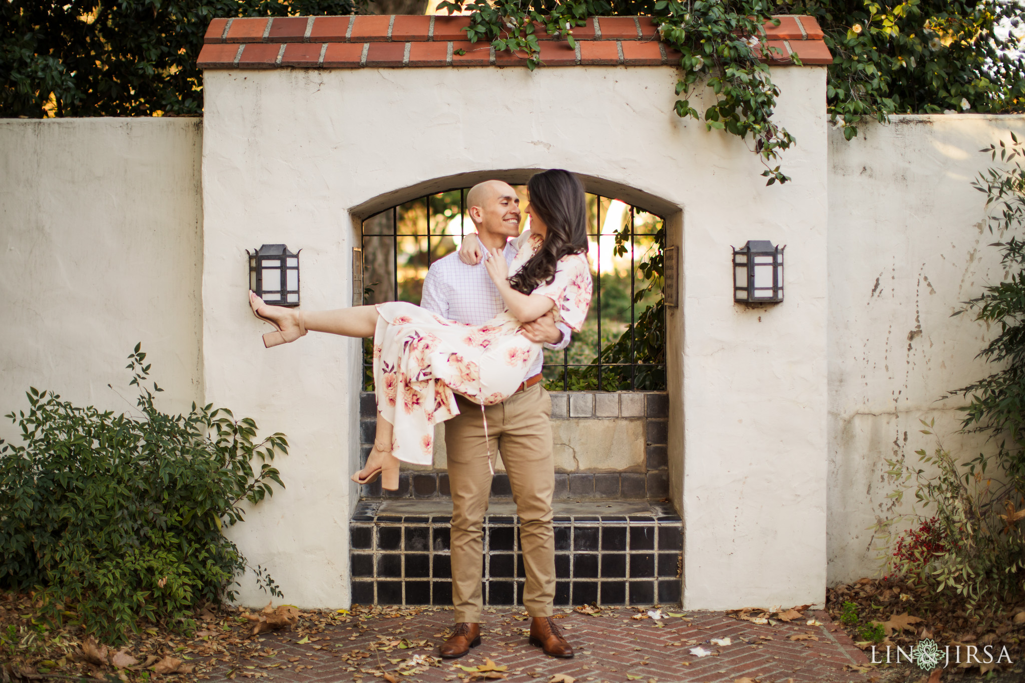10 Claremont Colleges Fall Engagement Photography
