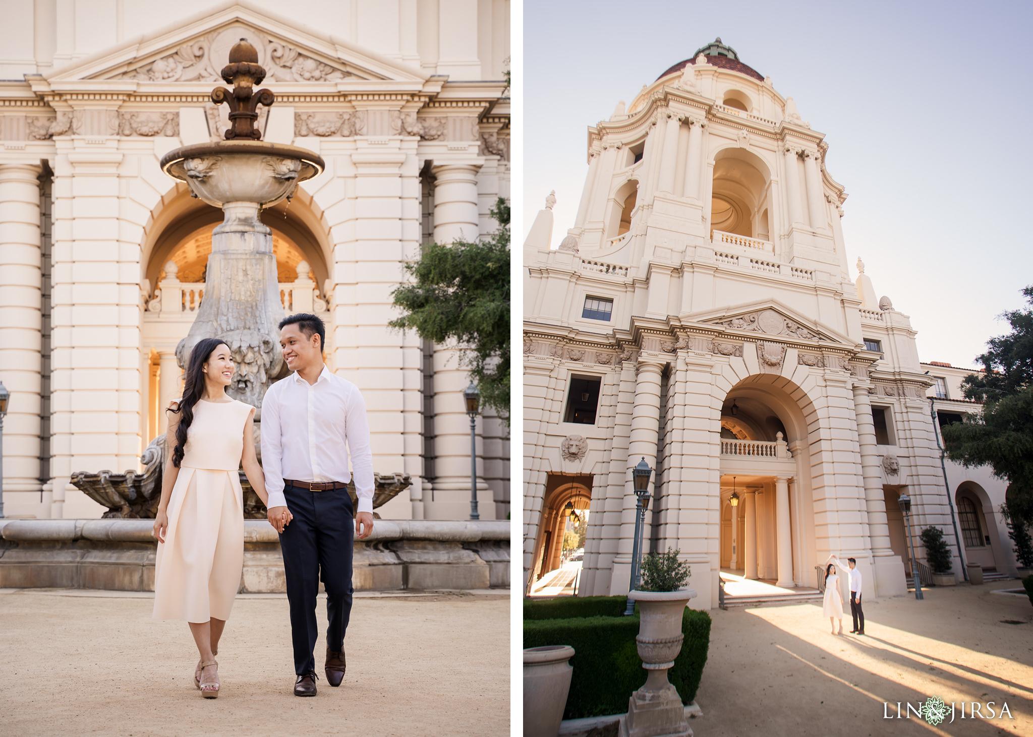 10 Pasadena City Hall Engagement Photography