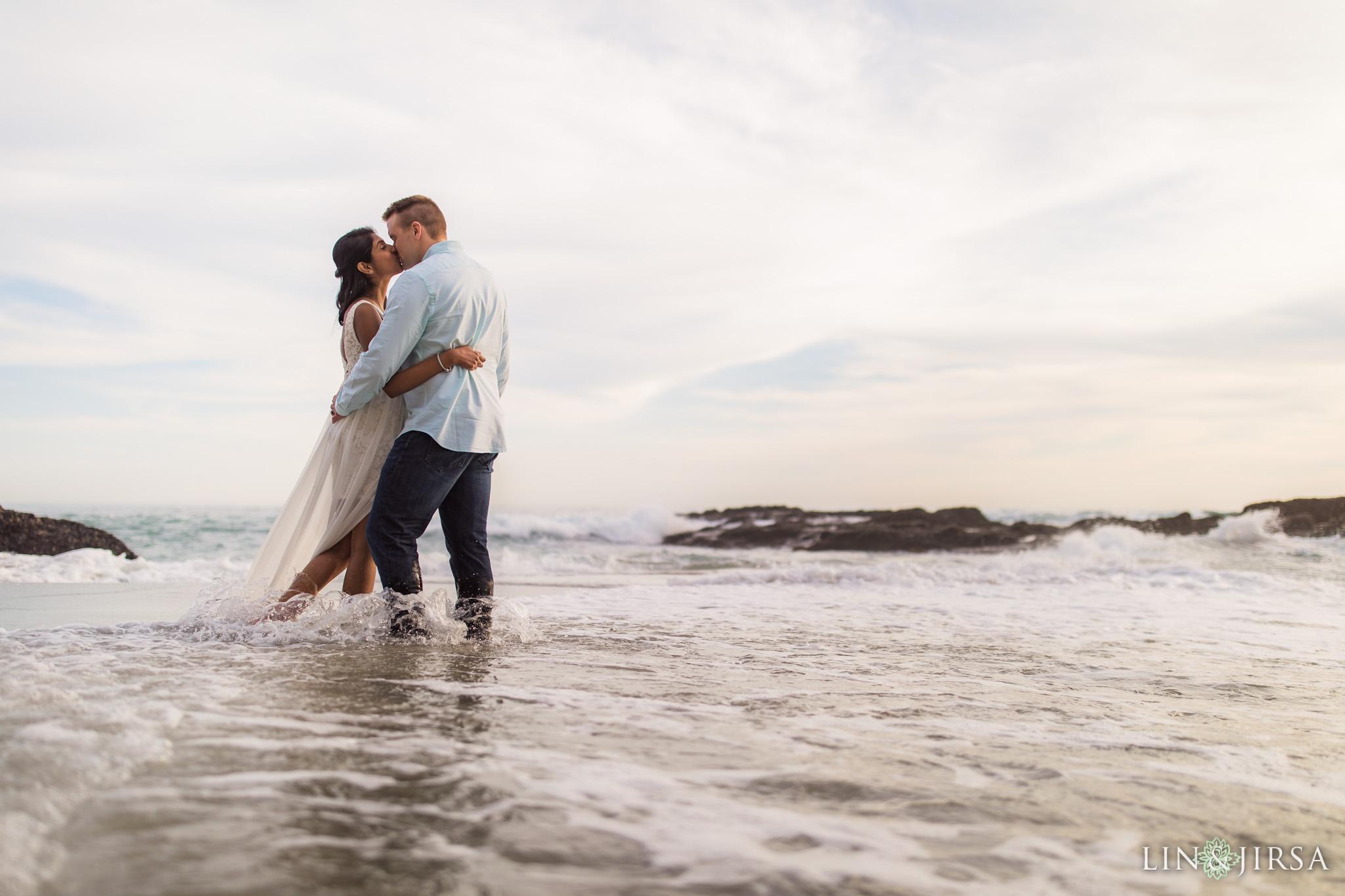 11 Victoria Beach Laguna Beach Engagement Photography