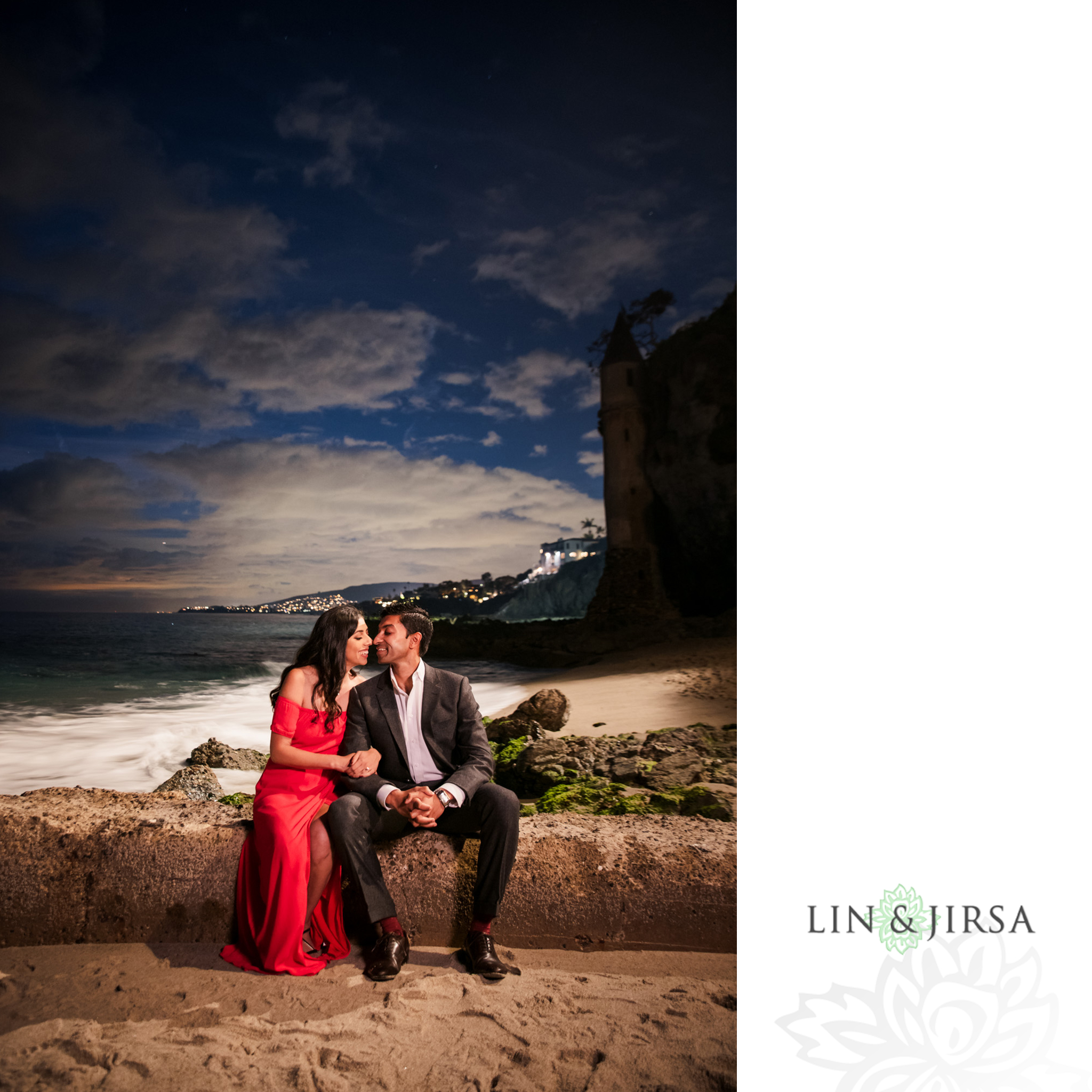 11 Victoria Beach Orange County Engagement Photography