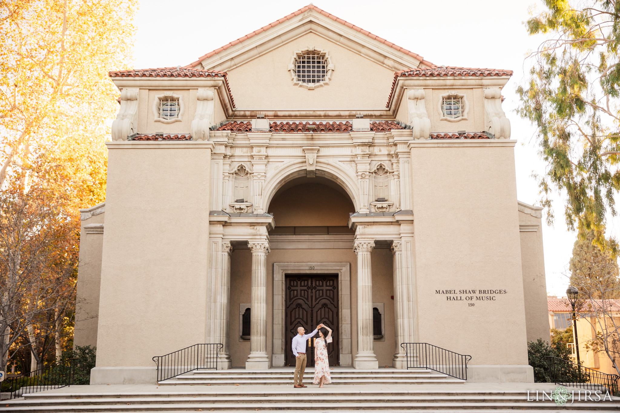 12 Claremont Colleges Fall Engagement Photography