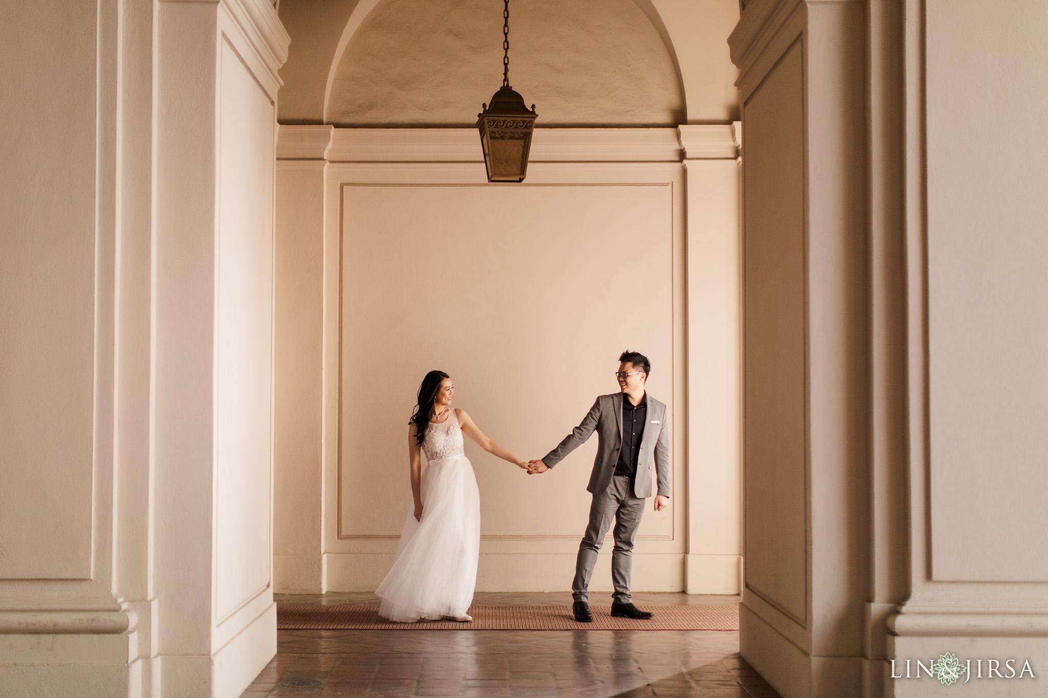 12 Pasadena City Hall Engagement Photography 1