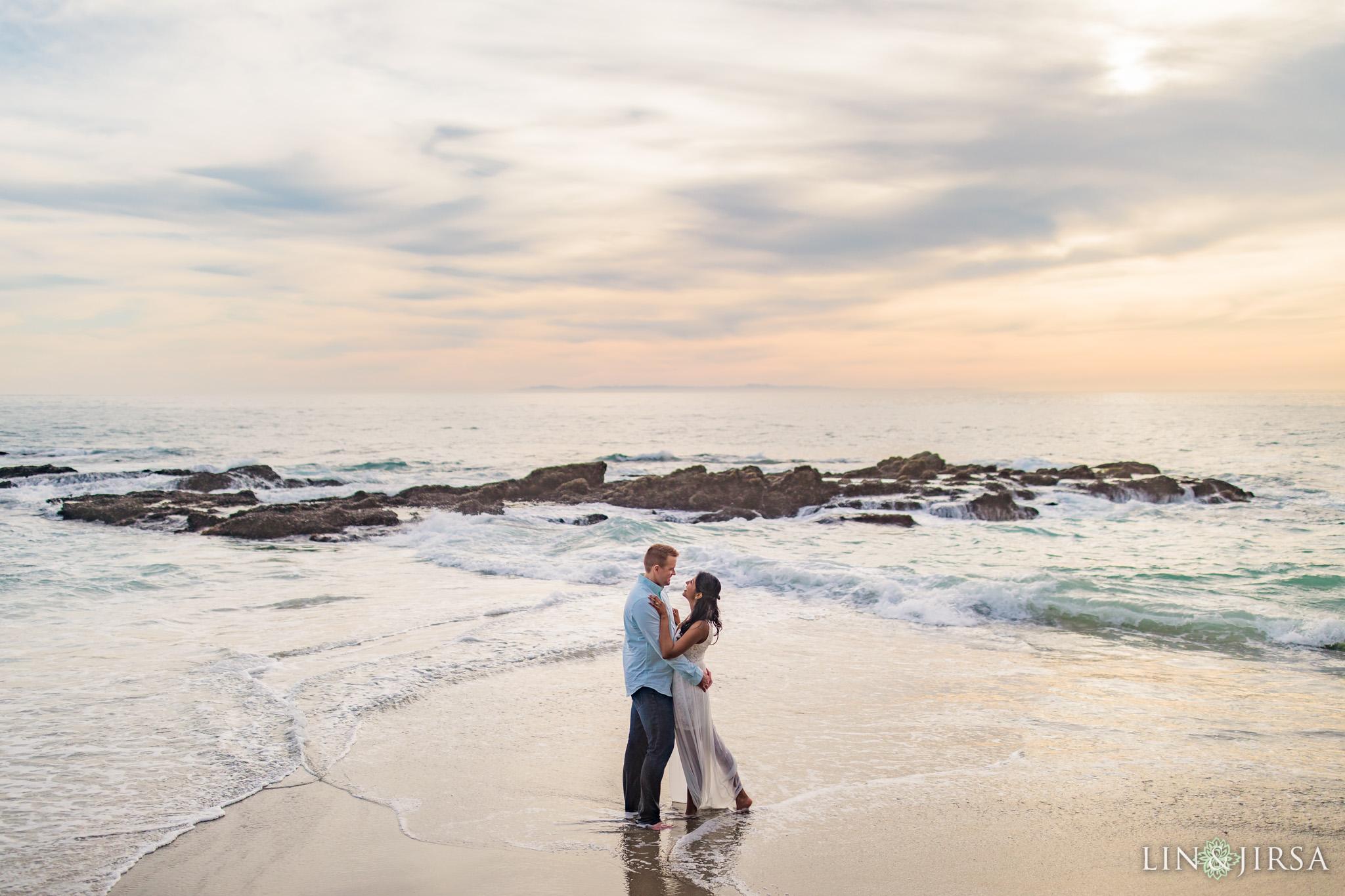 12 Victoria Beach Laguna Beach Engagement Photography
