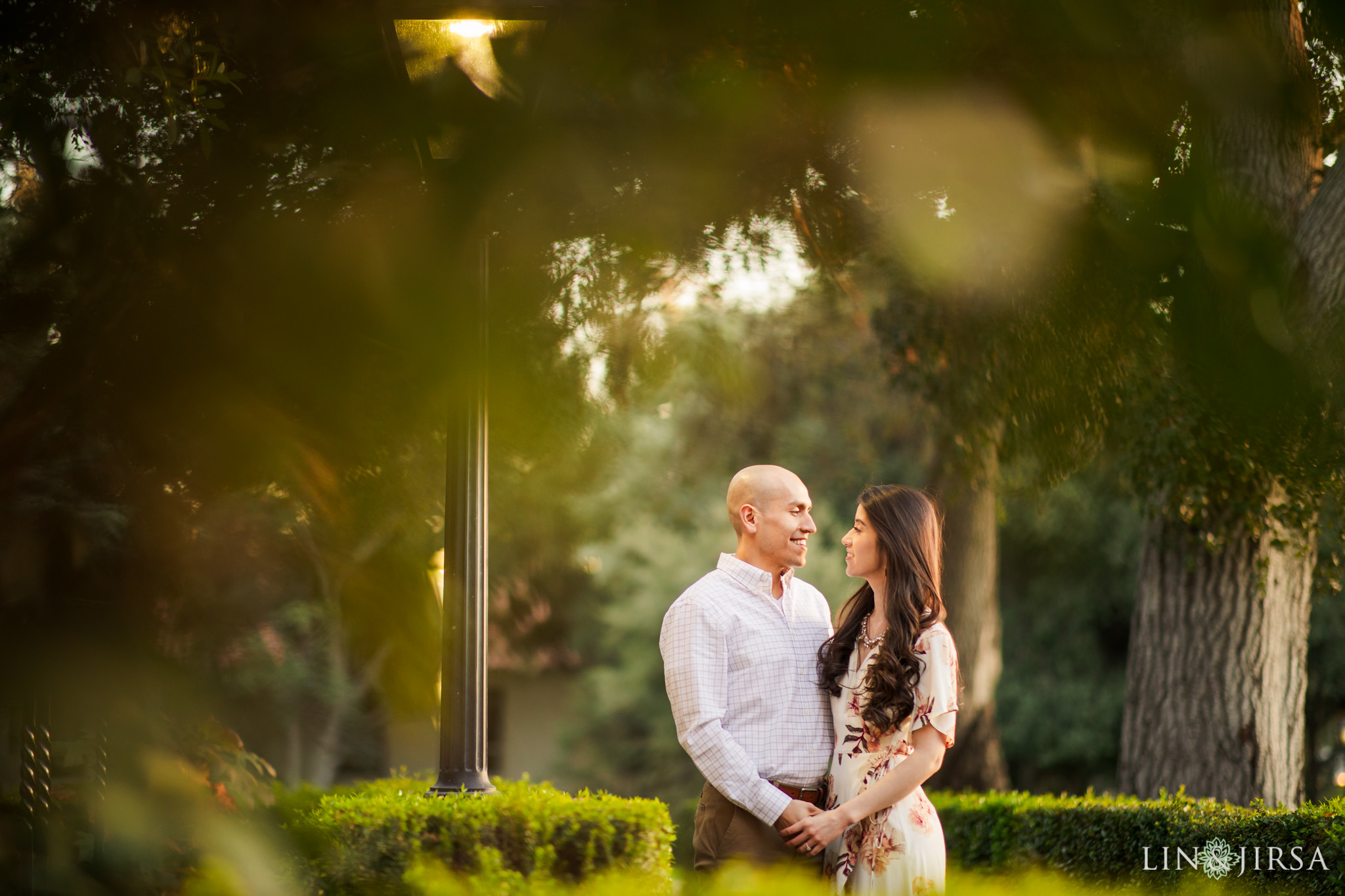 13 Claremont Colleges Fall Engagement Photography