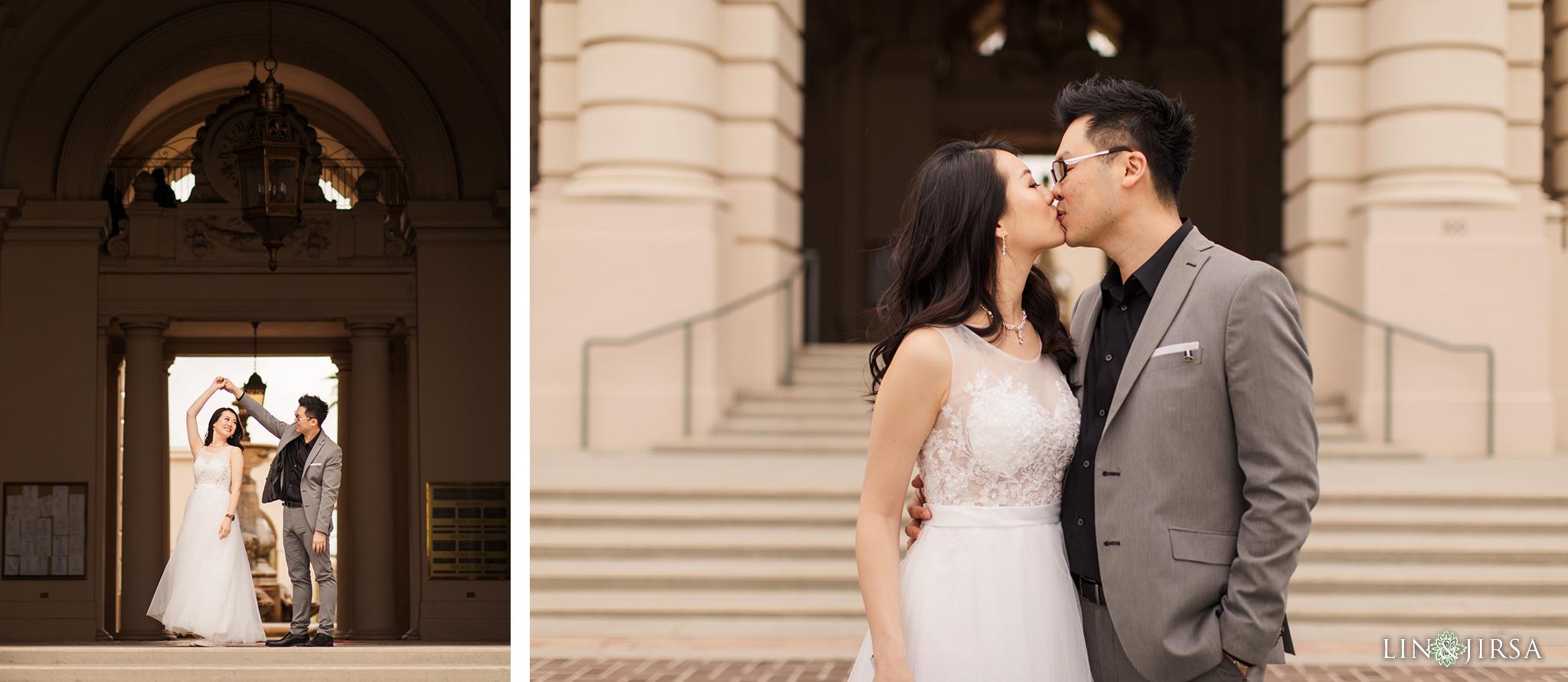 13 Pasadena City Hall Engagement Photography 1