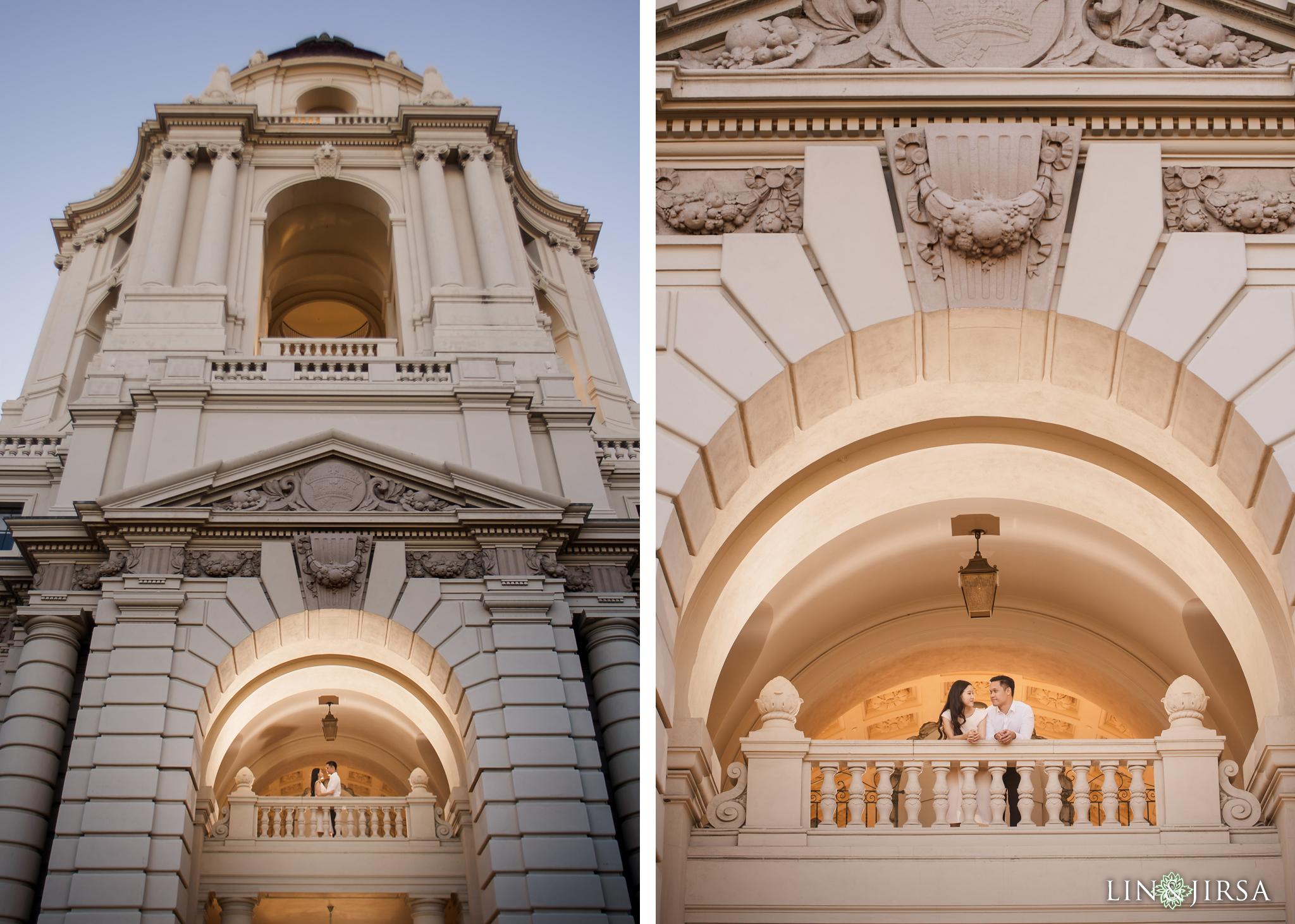 14 Pasadena City Hall Engagement Photography