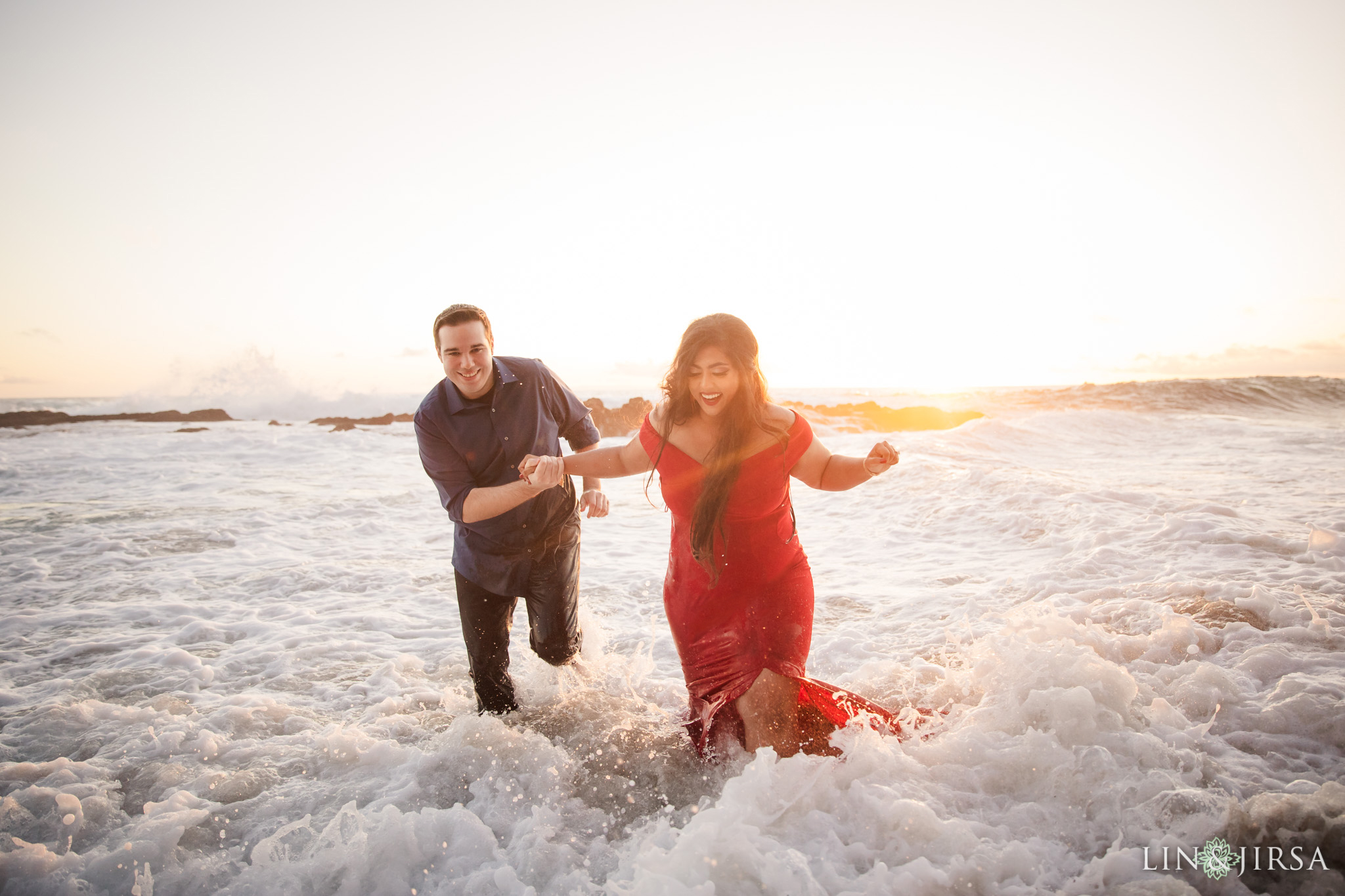 14 Victoria Beach Orange County Engagement Photography