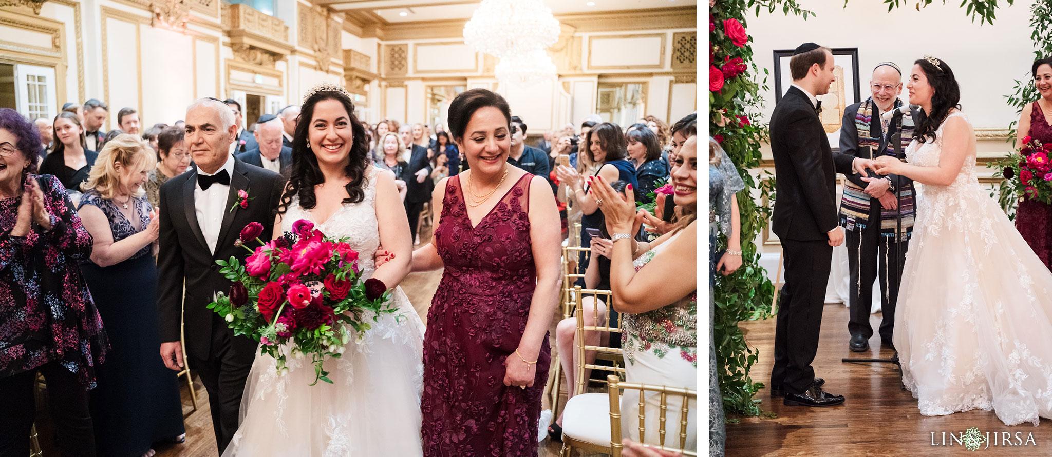 16 Alexandria Ballrooms Los Angeles Jewish Wedding Photography