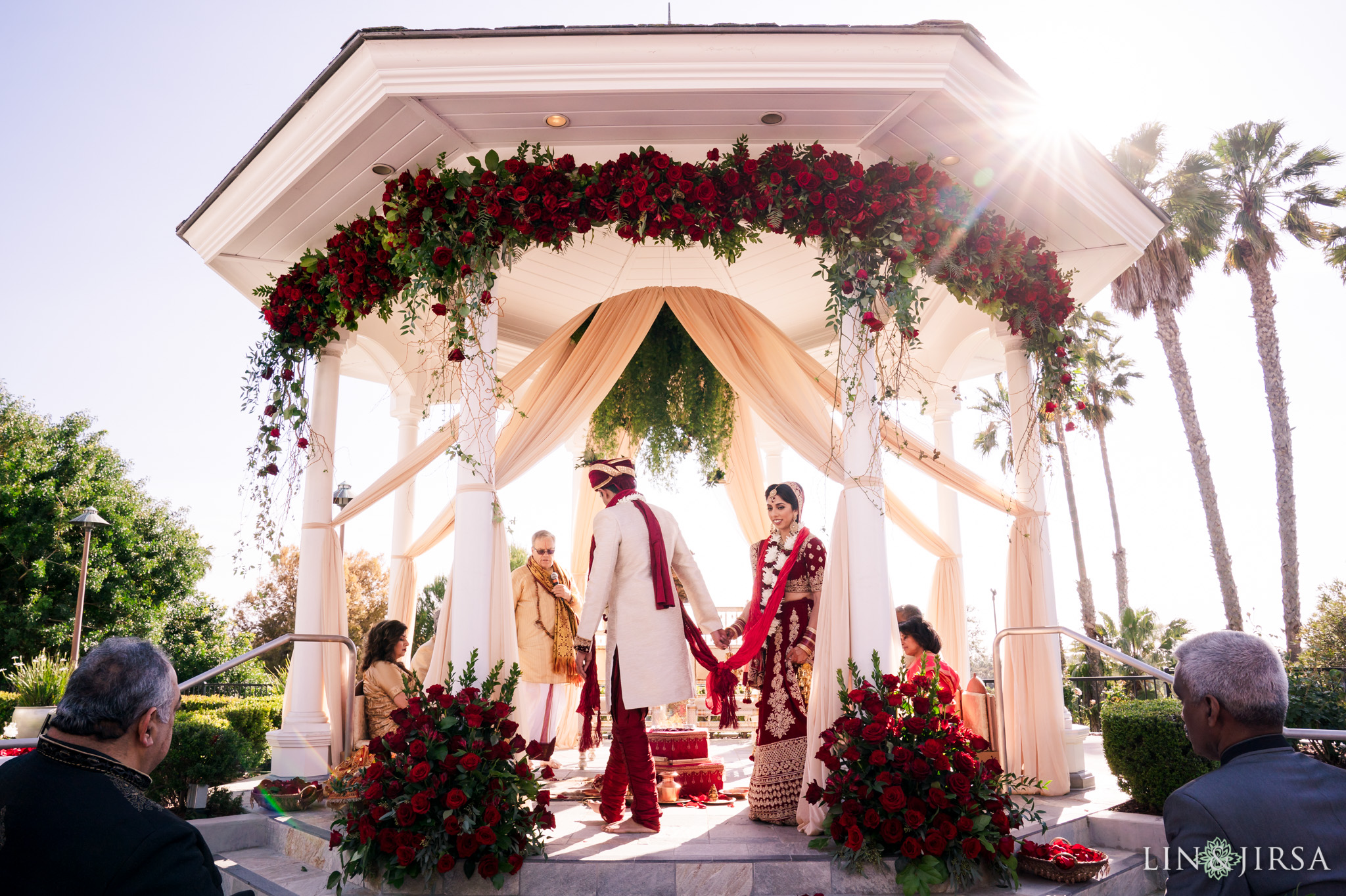 16 Newport Beach Marriott Indian Wedding Photography