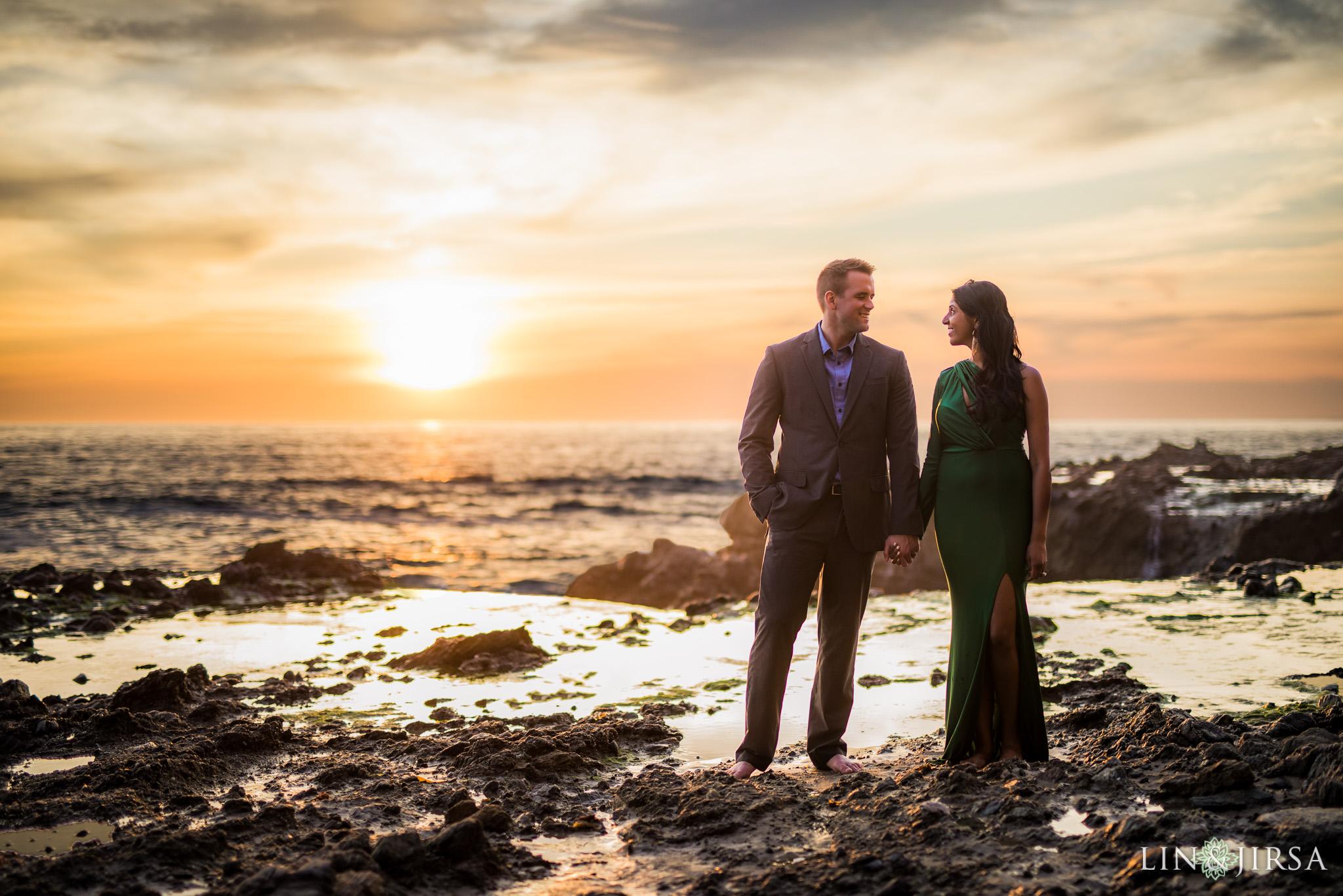 16 Victoria Beach Laguna Beach Engagement Photography