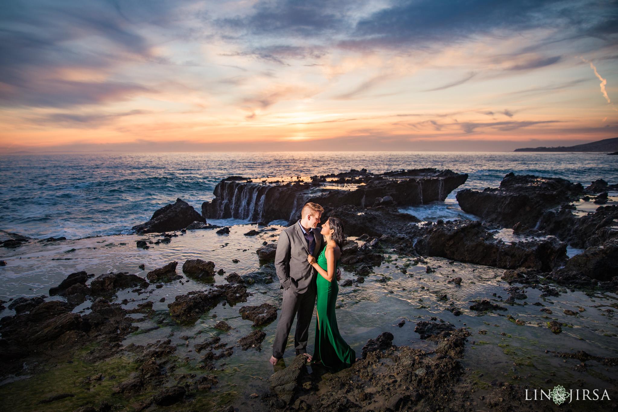 17 Victoria Beach Laguna Beach Engagement Photography
