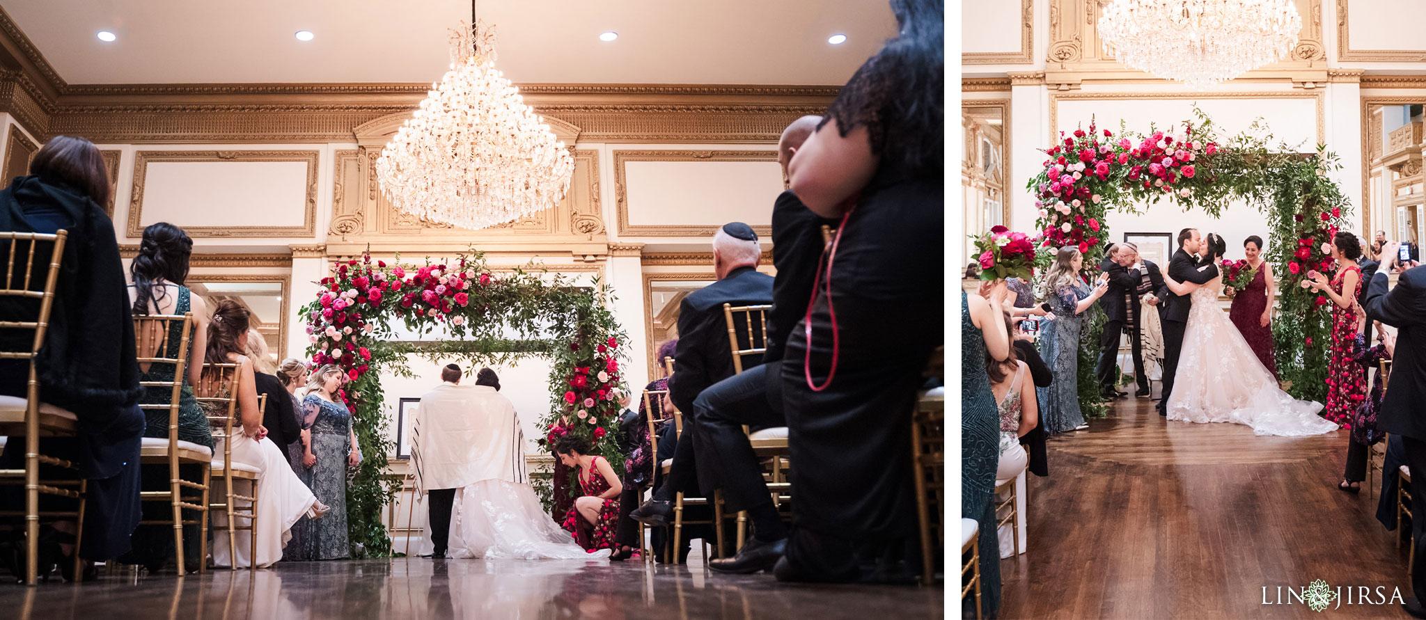 19 Alexandria Ballrooms Los Angeles Jewish Wedding Photography