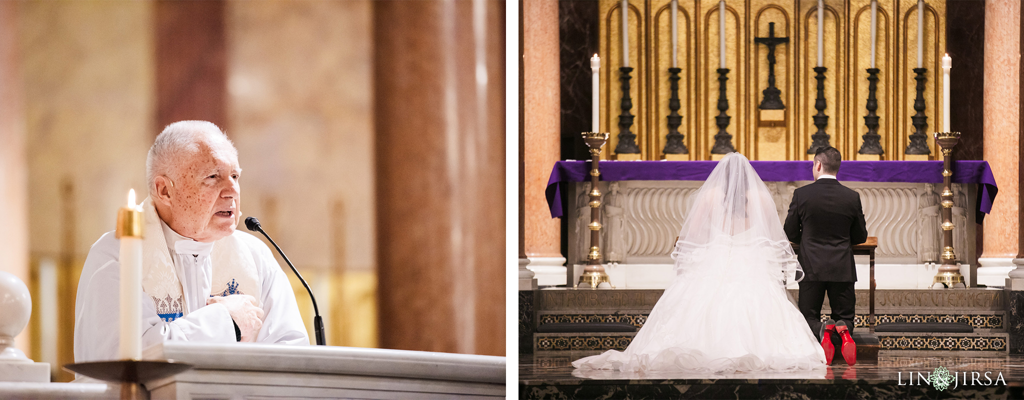 19 St Andrew Catholic Church Pasadena Wedding Photography