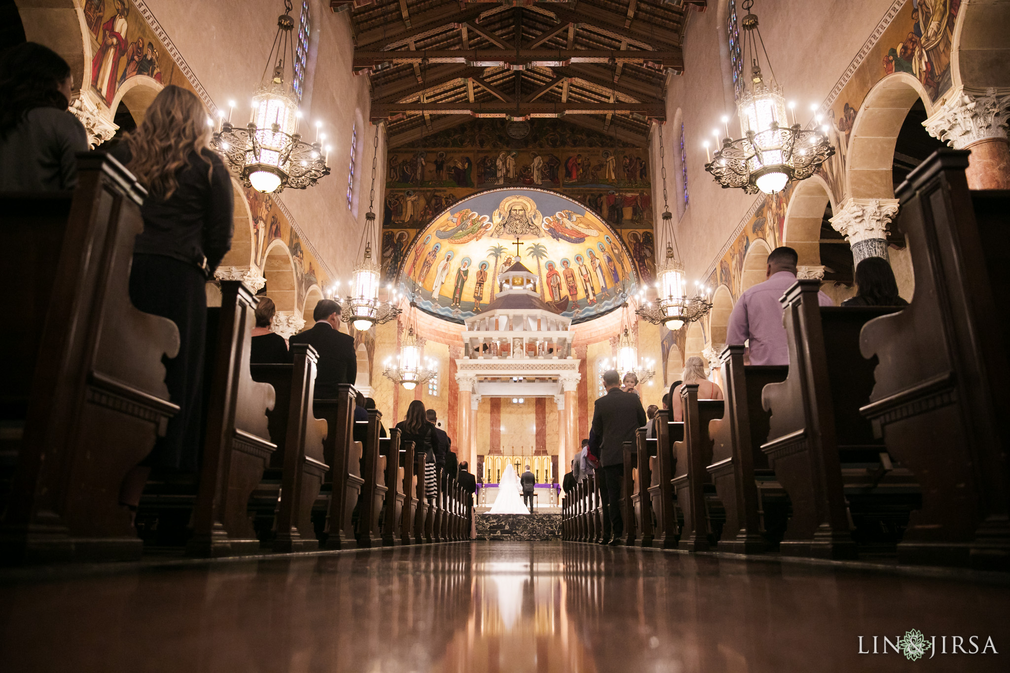 20 St Andrew Catholic Church Pasadena Wedding Photography