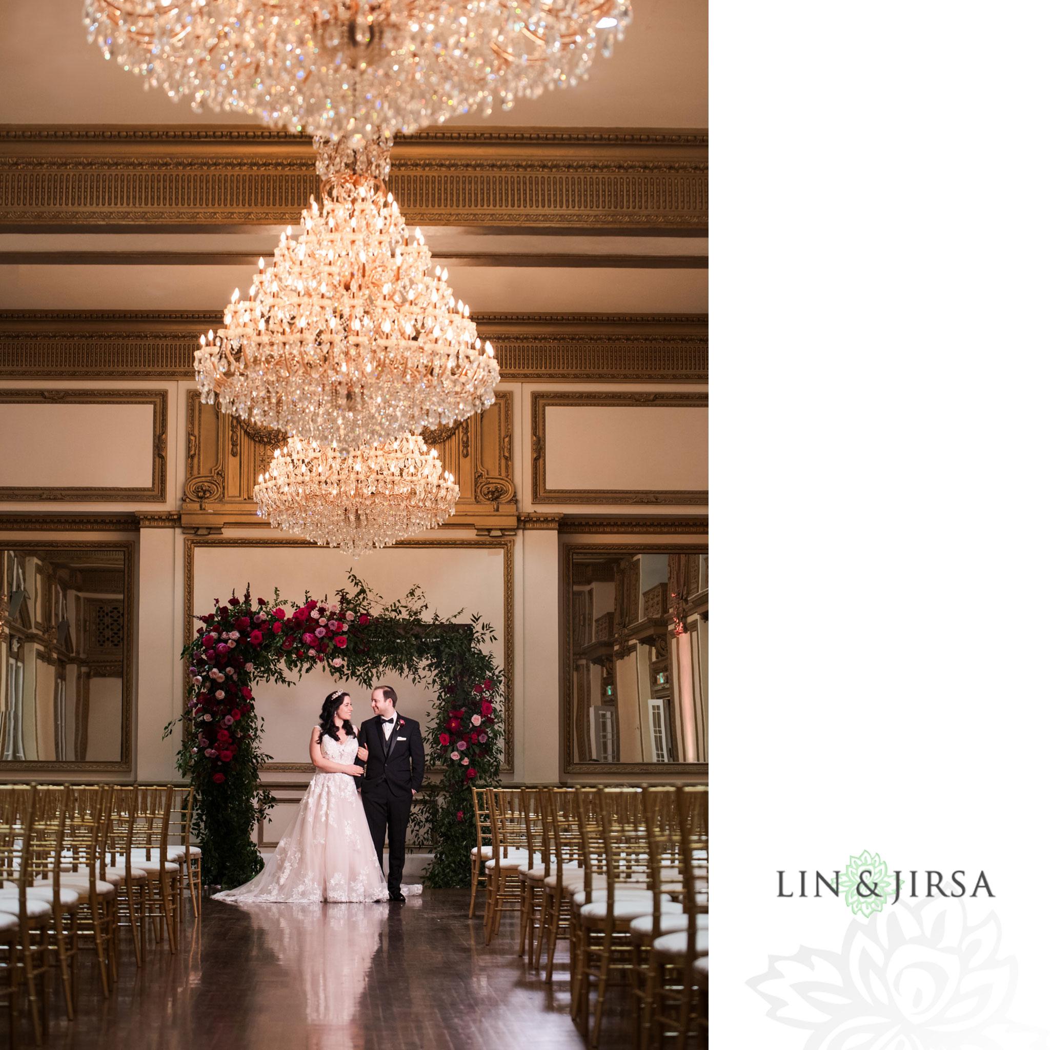 21 Alexandria Ballrooms Los Angeles Jewish Wedding Photography