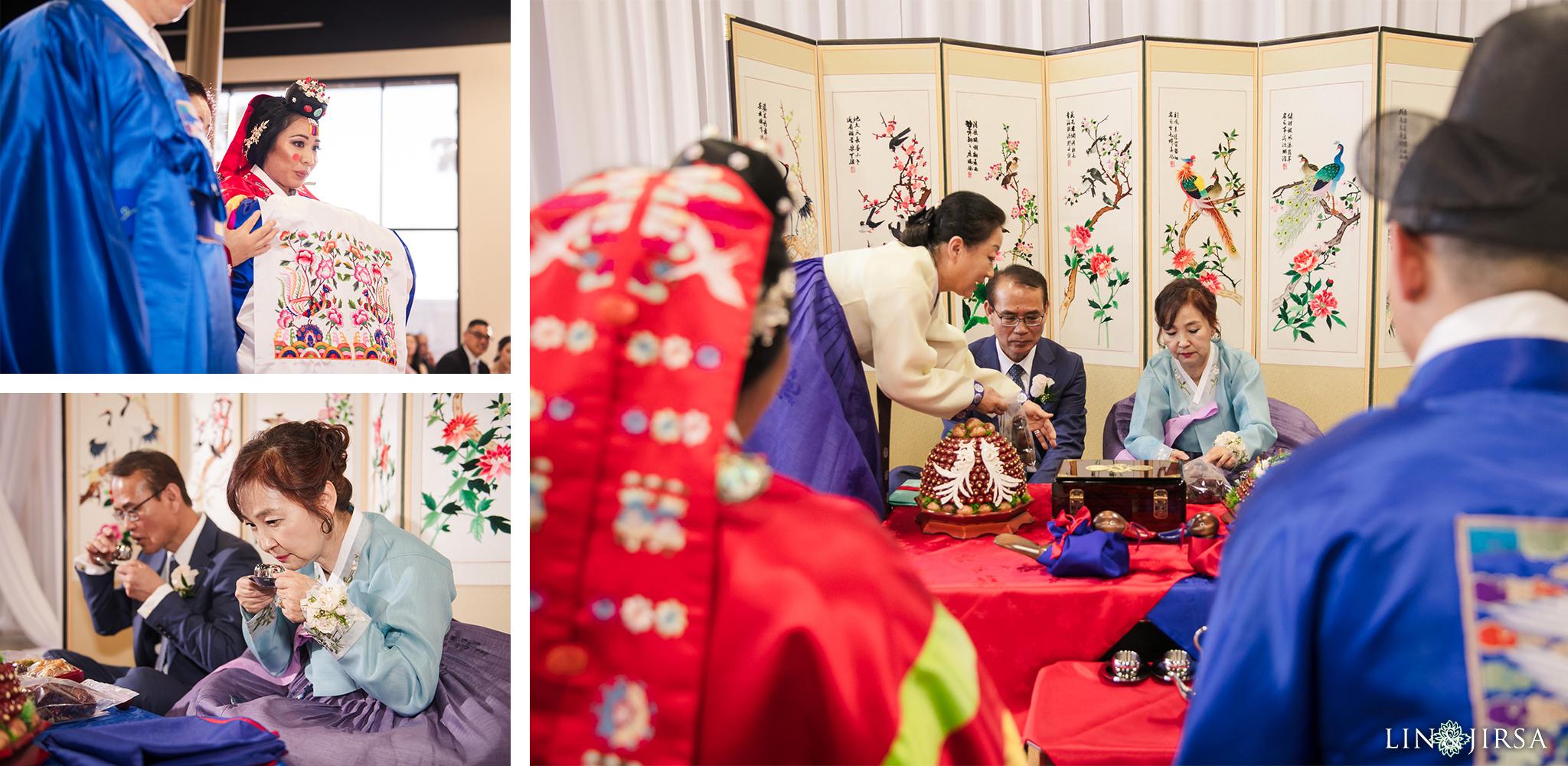 23 Business Expo Center Orange County Korean Wedding Ceremony Photography