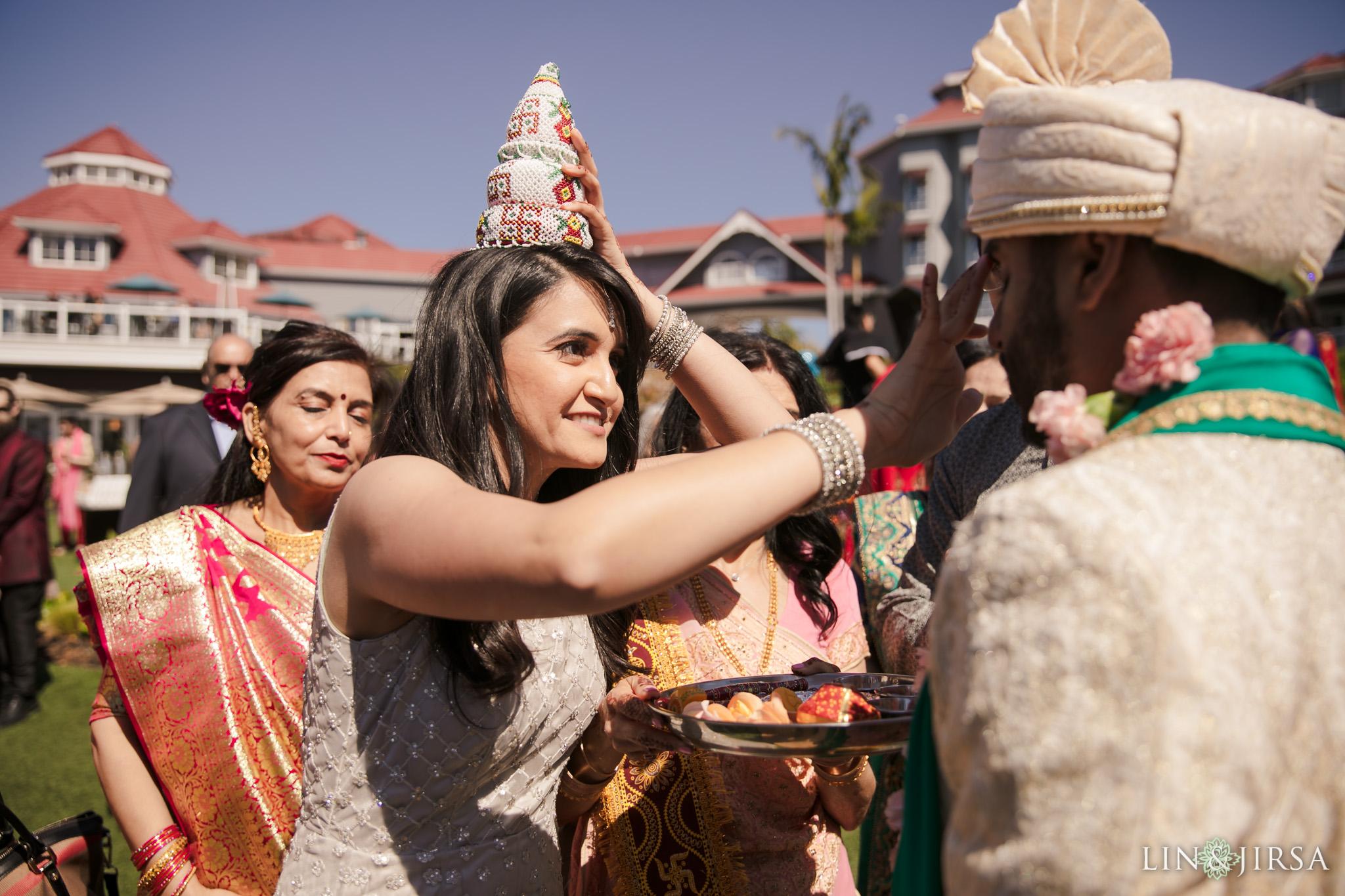23 Laguna Cliffs Marriott Indian Wedding Photography