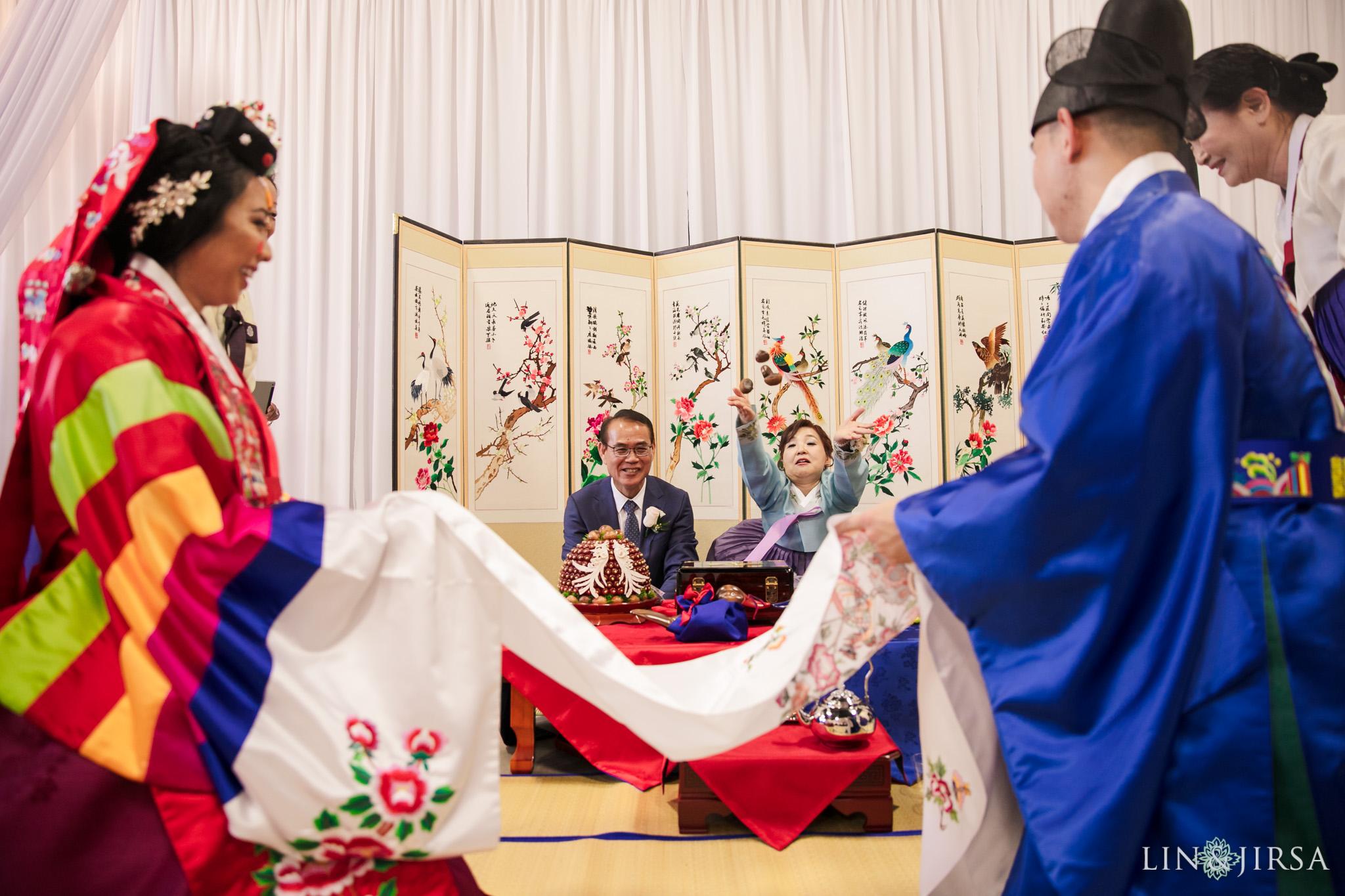 24 Business Expo Center Orange County Korean Wedding Ceremony Photography