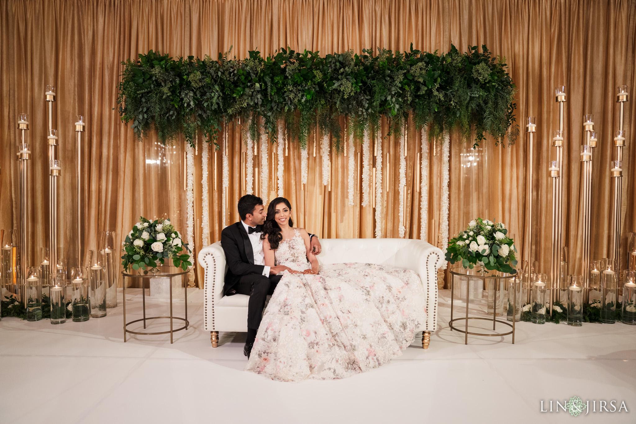 24 Newport Beach Marriott Indian Wedding Photography
