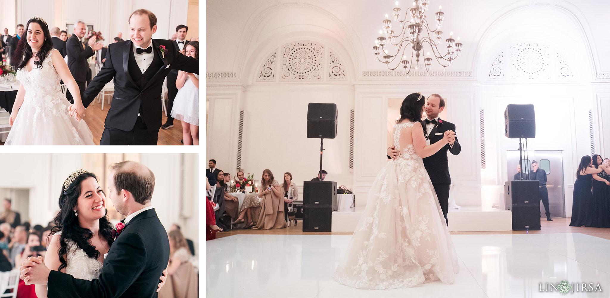 26 Alexandria Ballrooms Los Angeles Jewish Wedding Photography