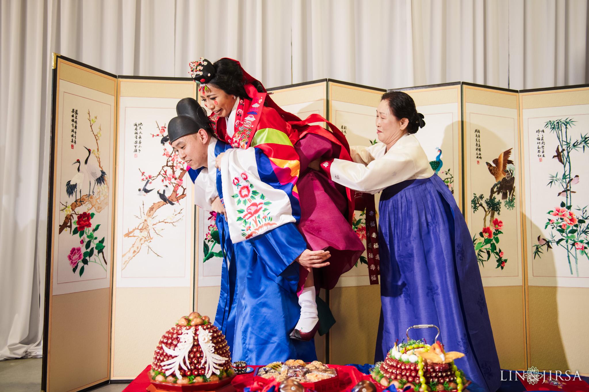 26 Business Expo Center Orange County Korean Wedding Ceremony Photography