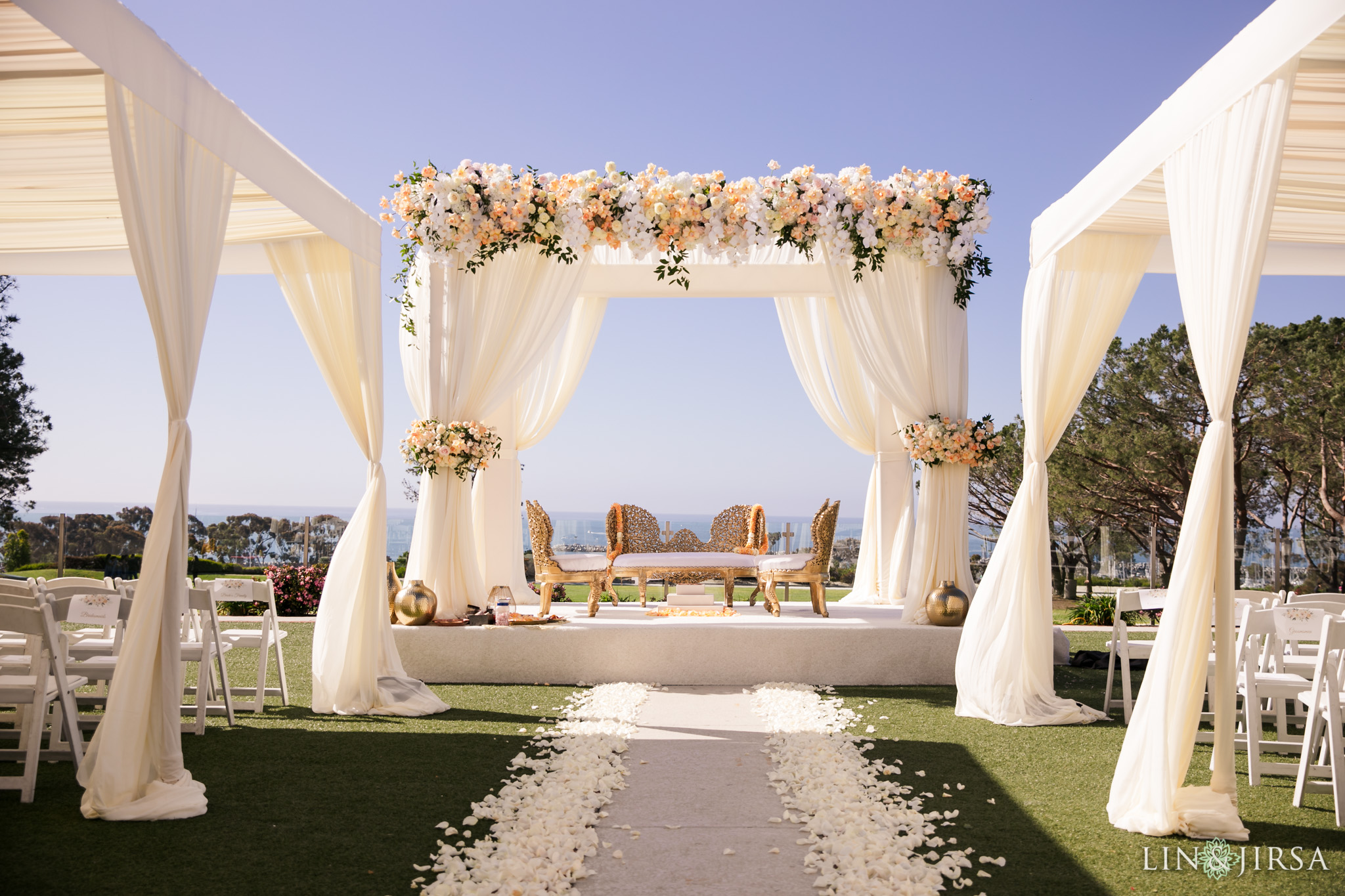26 Laguna Cliffs Marriott Indian Wedding Photography