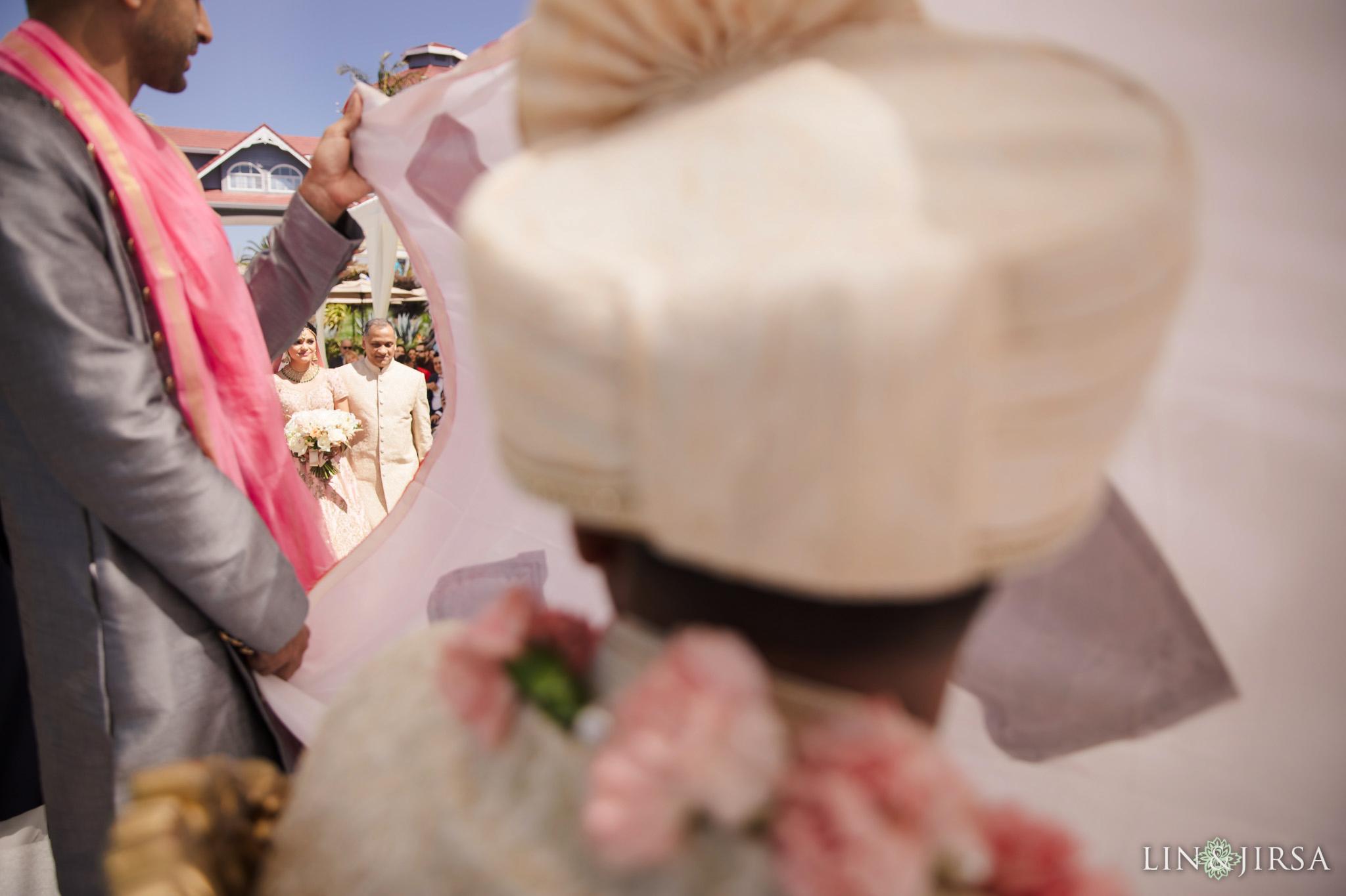 28 Laguna Cliffs Marriott Indian Wedding Photography
