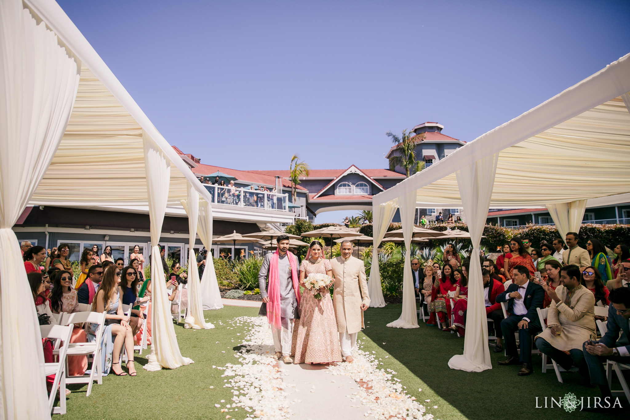29 Laguna Cliffs Marriott Indian Wedding Photography