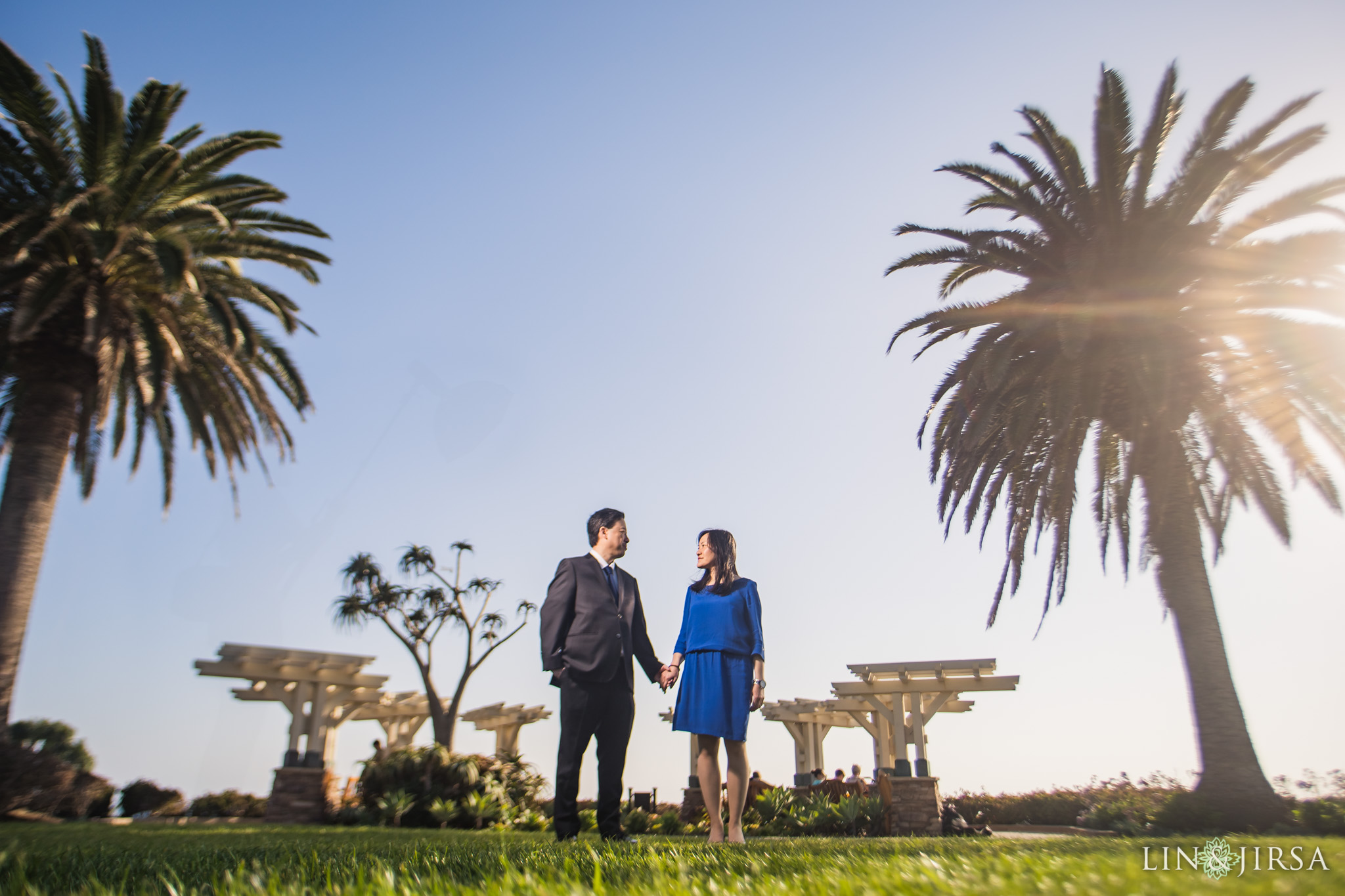 zjg Treasure Island Park Laguna Beach Engagement Photography