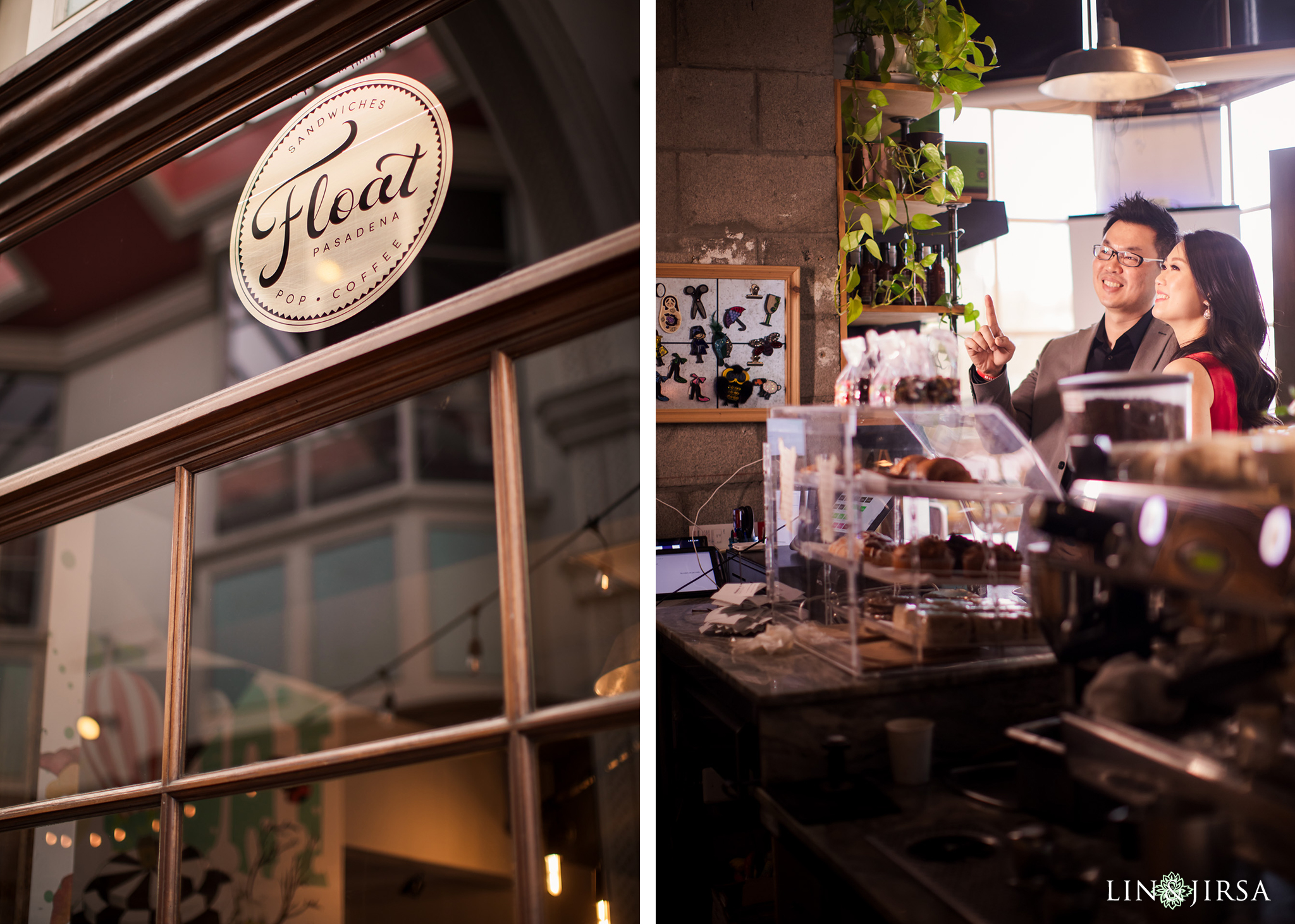 zmsantos Float Downtown Pasadena Engagement Photography