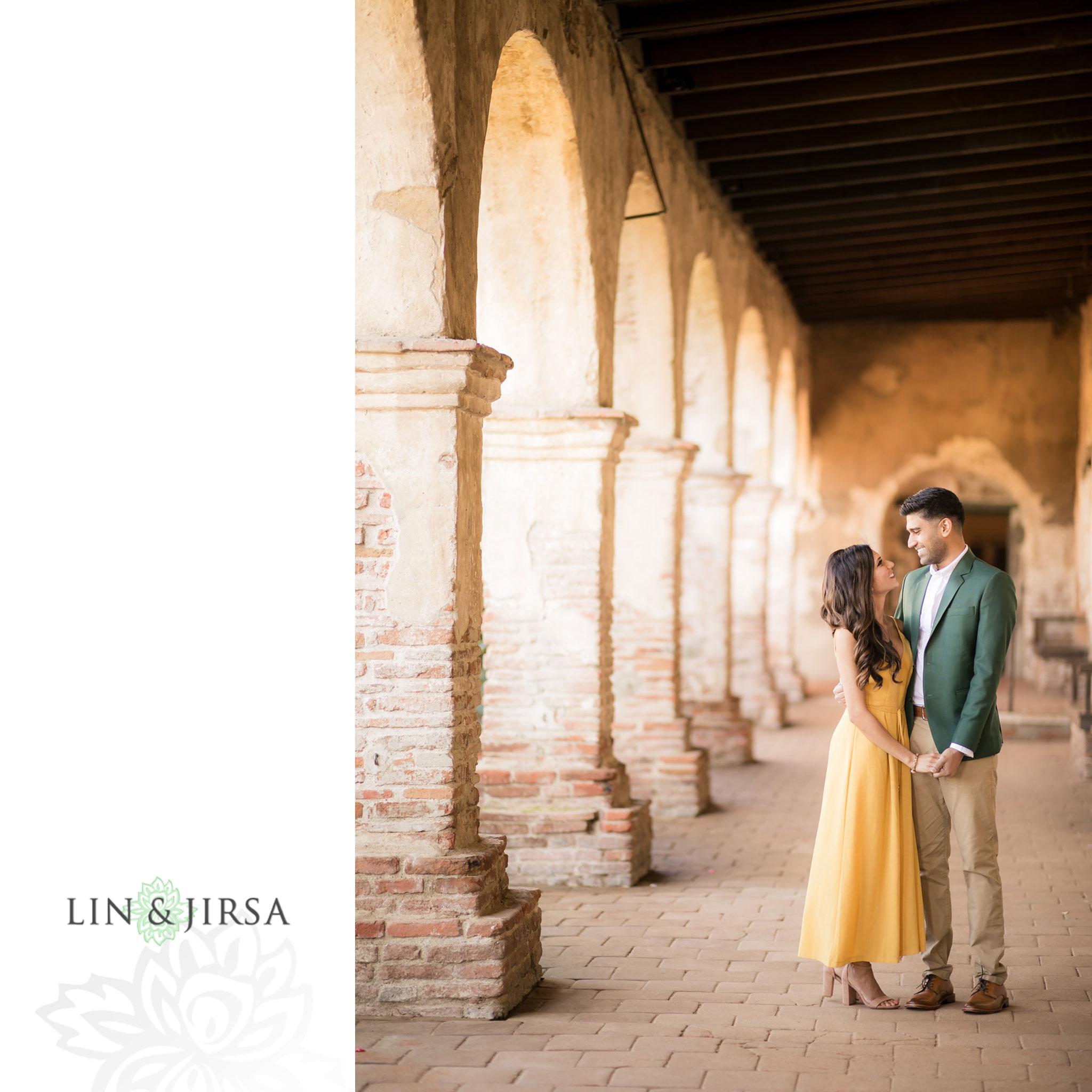 zmsantos Mission San Juan Capistrano Engagement Photography