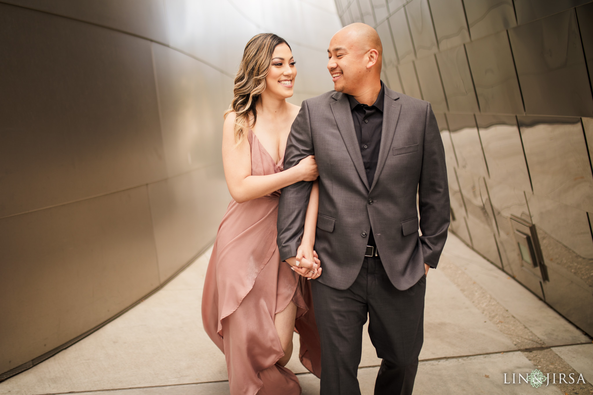 znc Downtown Los Angeles Engagement Photography