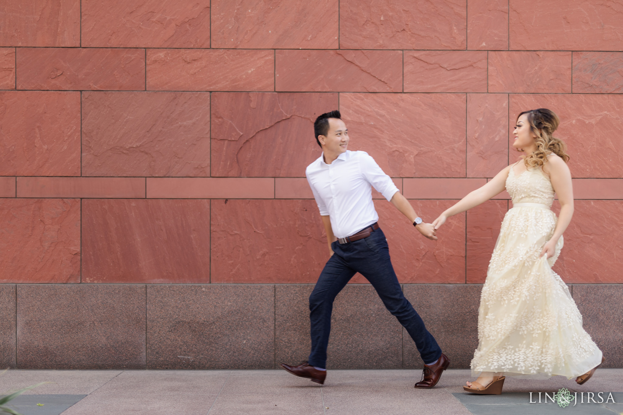01 Downtown Los Angeles Engagement Photography
