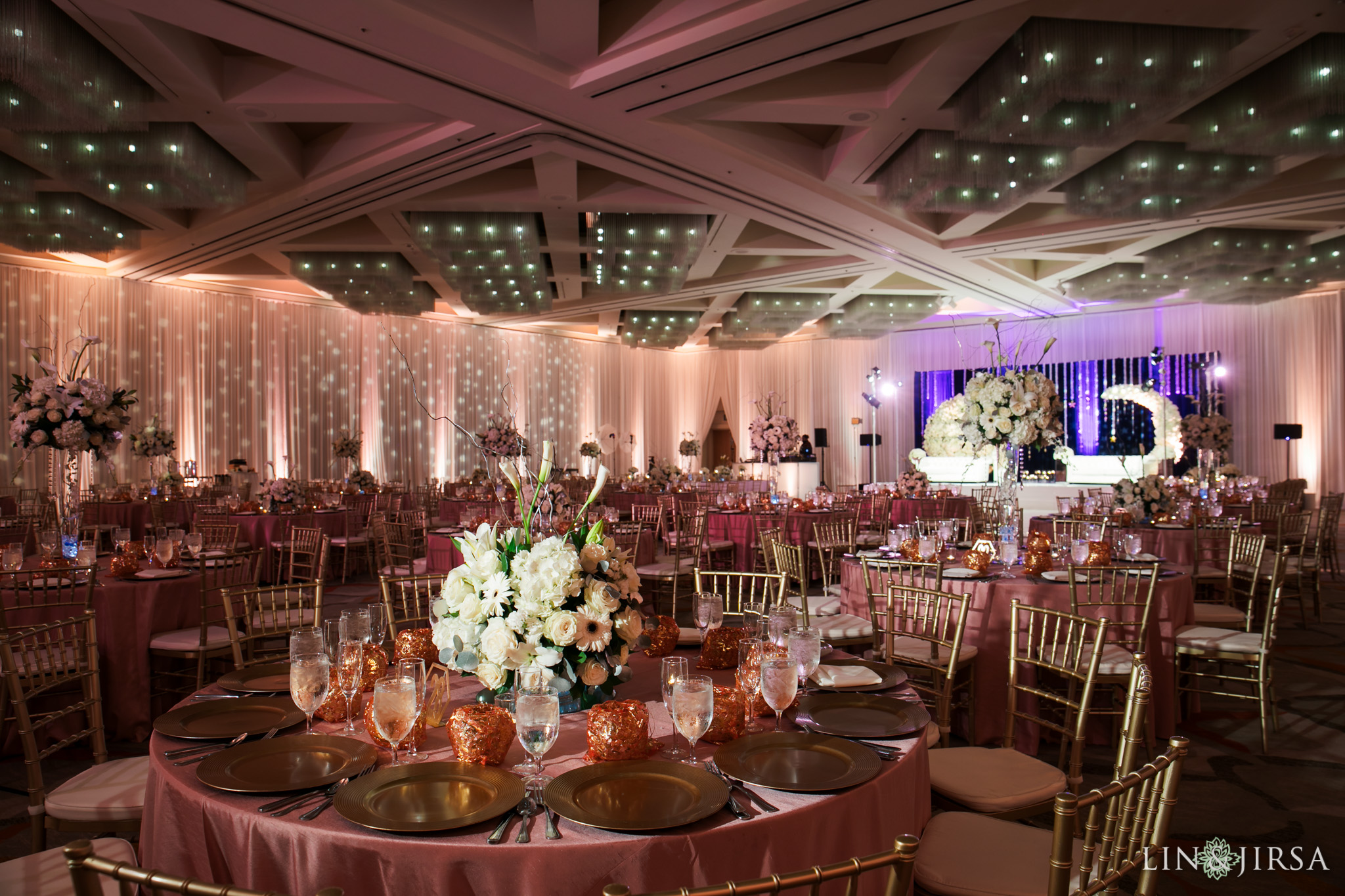 03 Hotel Irvine Joint Indian Reception Wedding Photography