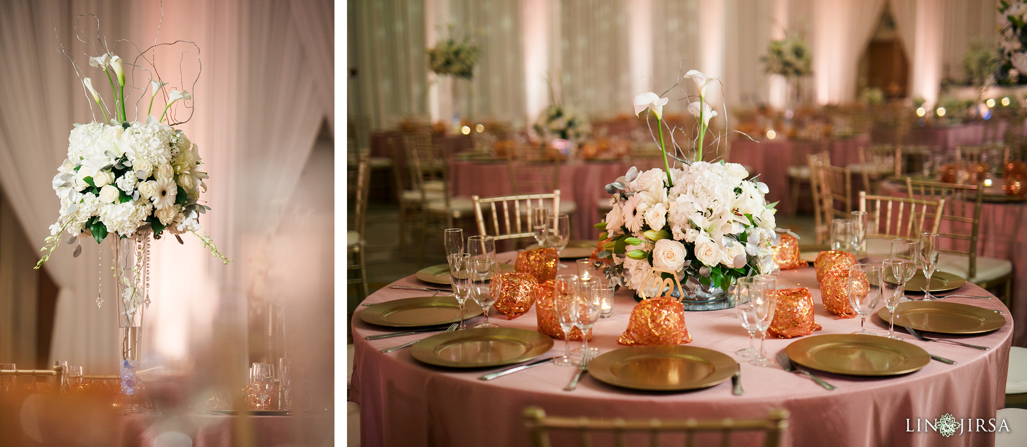04 Hotel Irvine Joint Indian Reception Wedding Photography