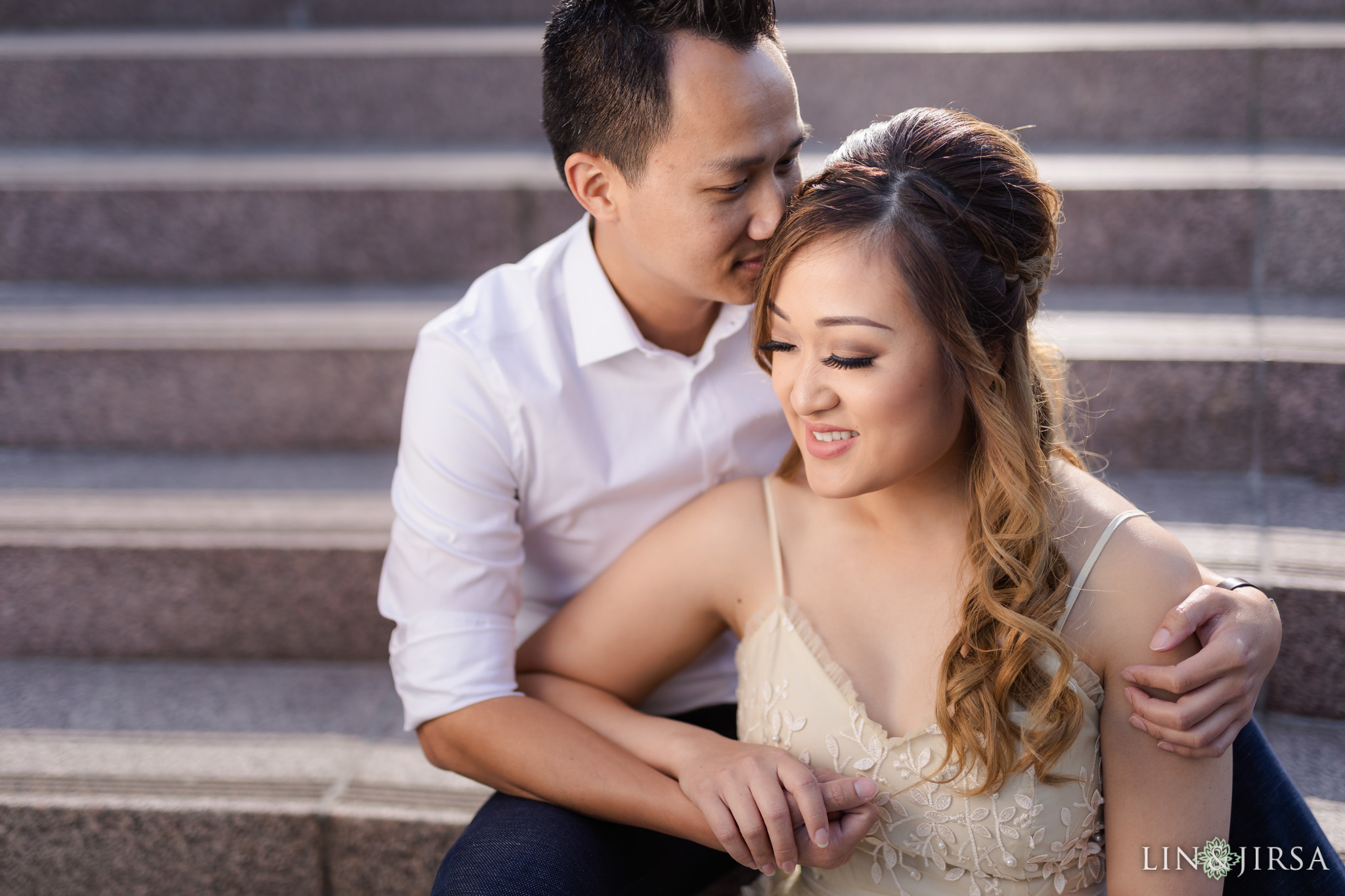 05 Downtown Los Angeles Engagement Photography