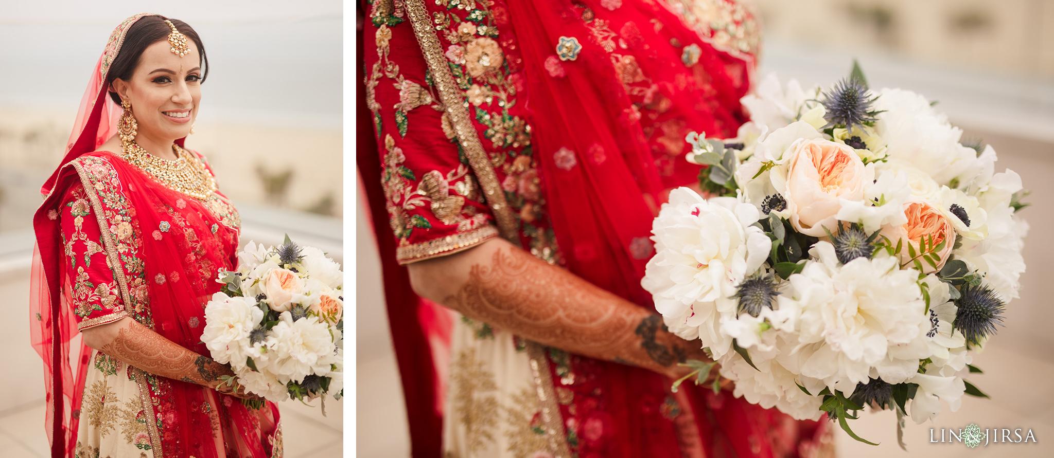 05 The Waterfront Beach Resort Orange County Indian Wedding Photography
