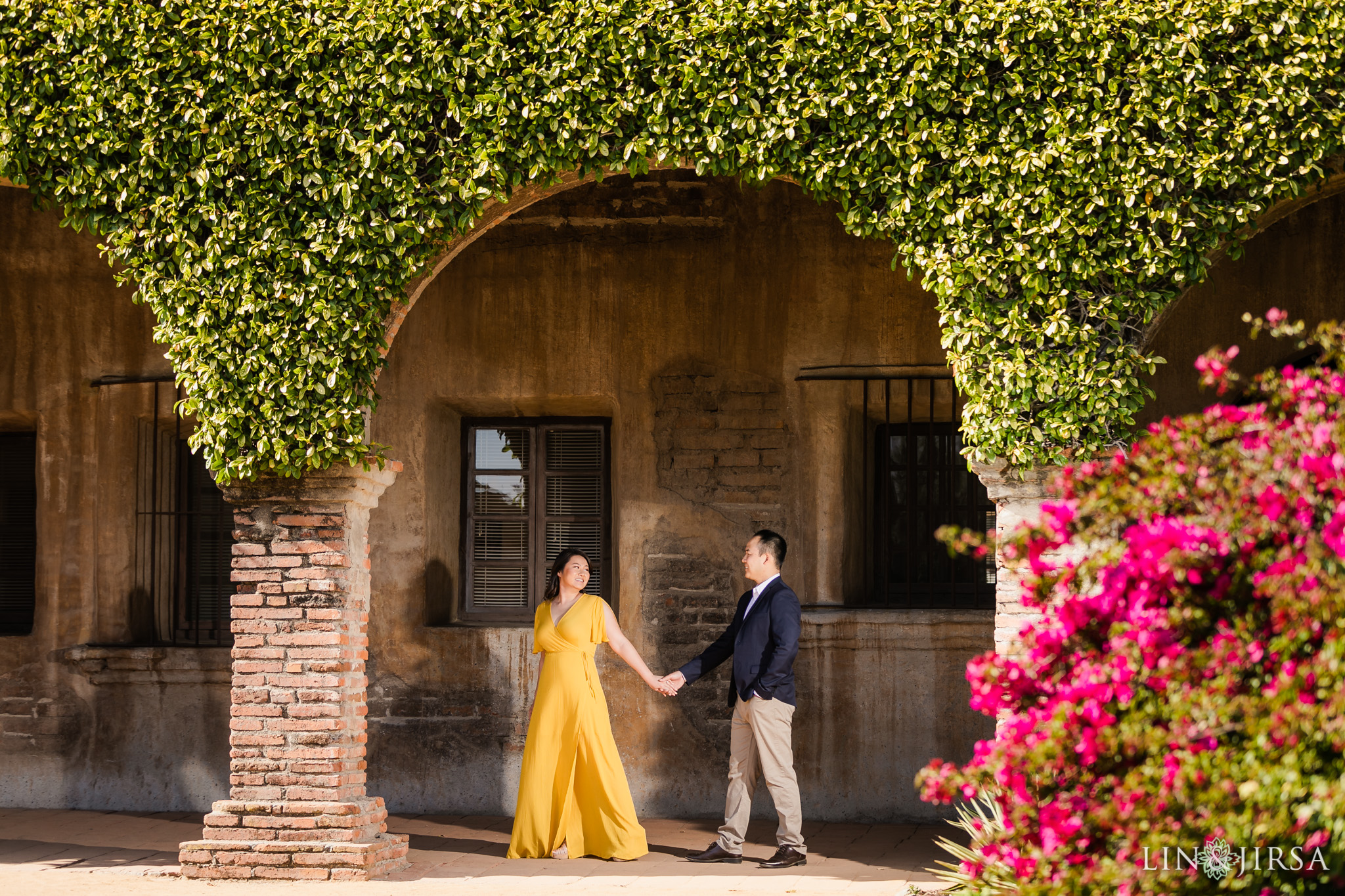 06 Mission San Juan Capistrano Engagement Photography