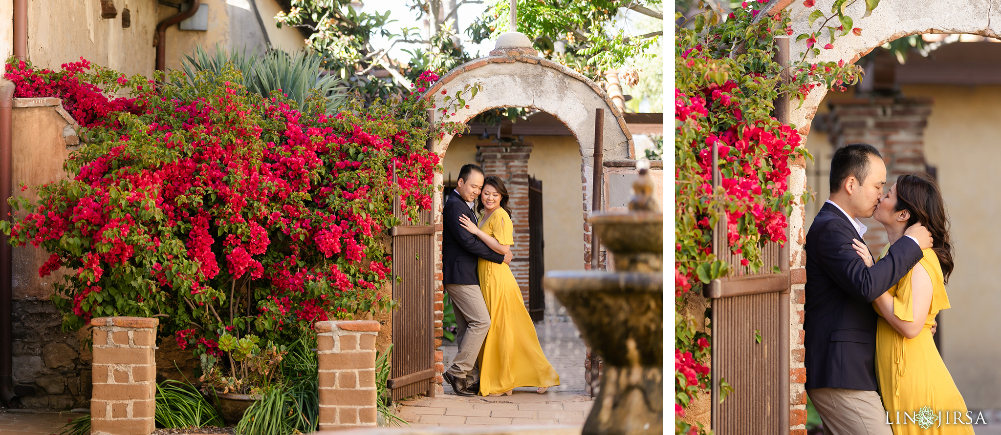 07 Mission San Juan Capistrano Engagement Photography